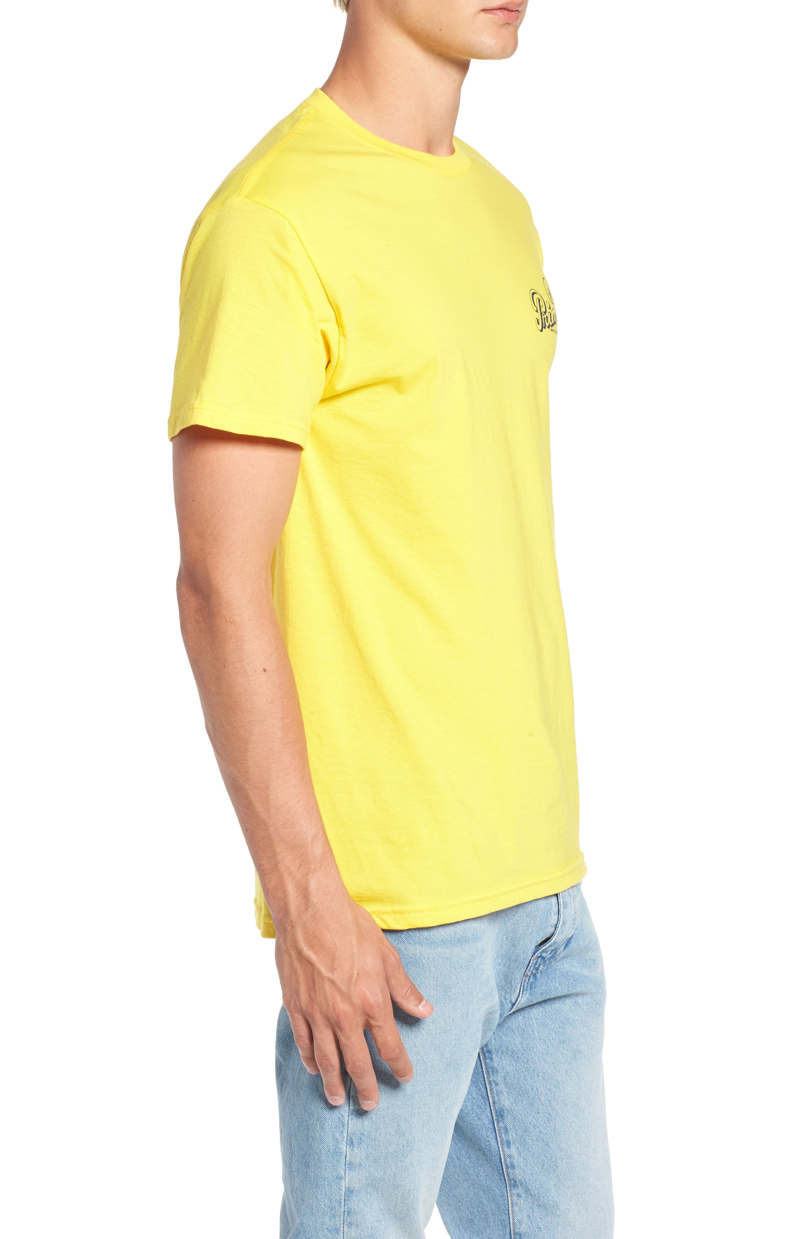 Primo Island T-Shirt,                             Alternate thumbnail 3, color,                             CYBER YELLOW