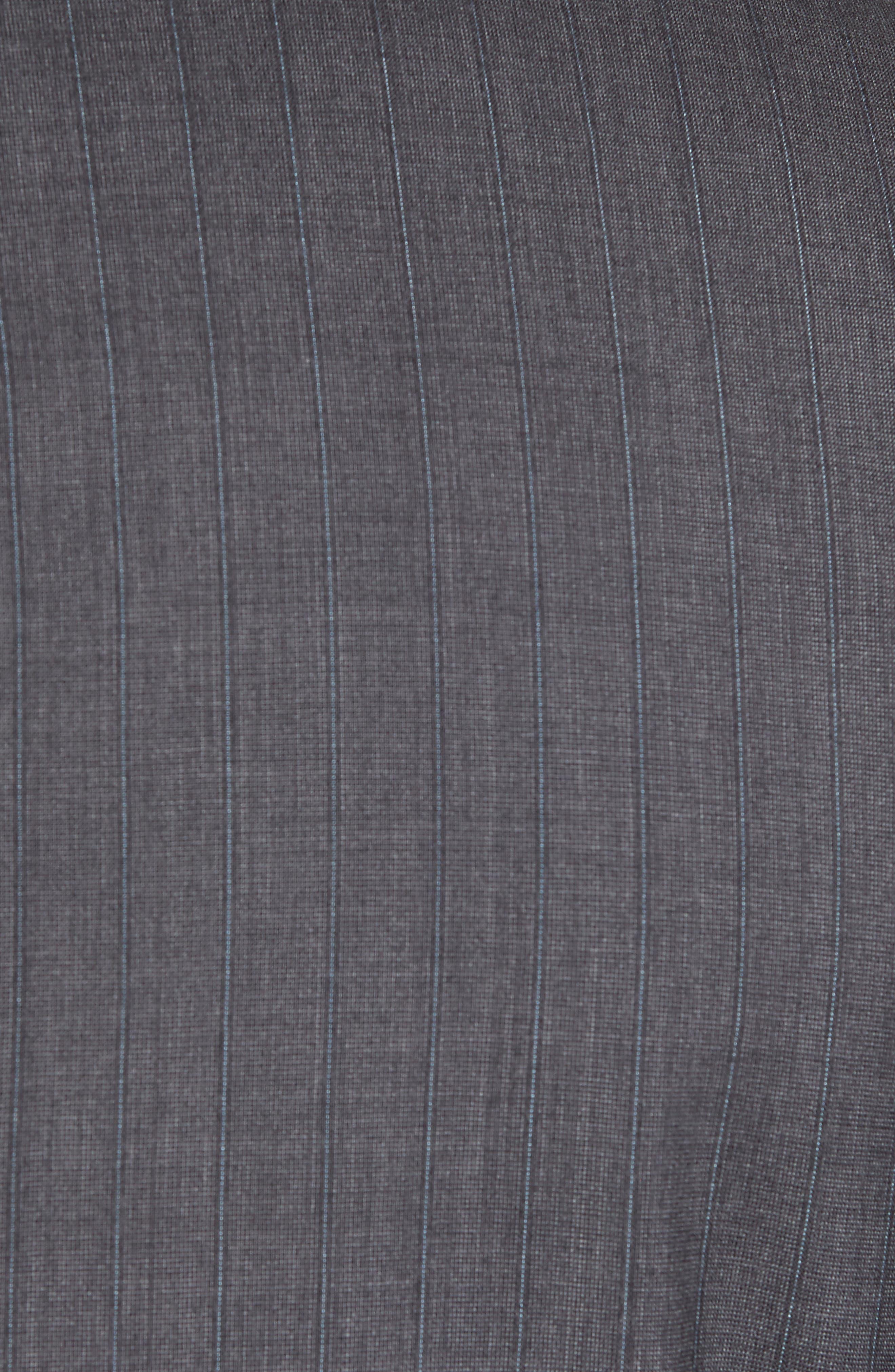 Classic B Fit Stripe Wool Suit,                             Alternate thumbnail 7, color,