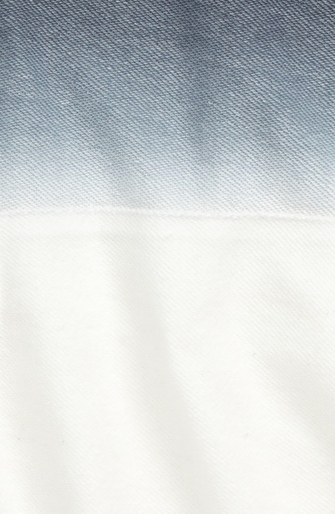 Ombré Short Sleeve Hoodie,                             Alternate thumbnail 2, color,                             020