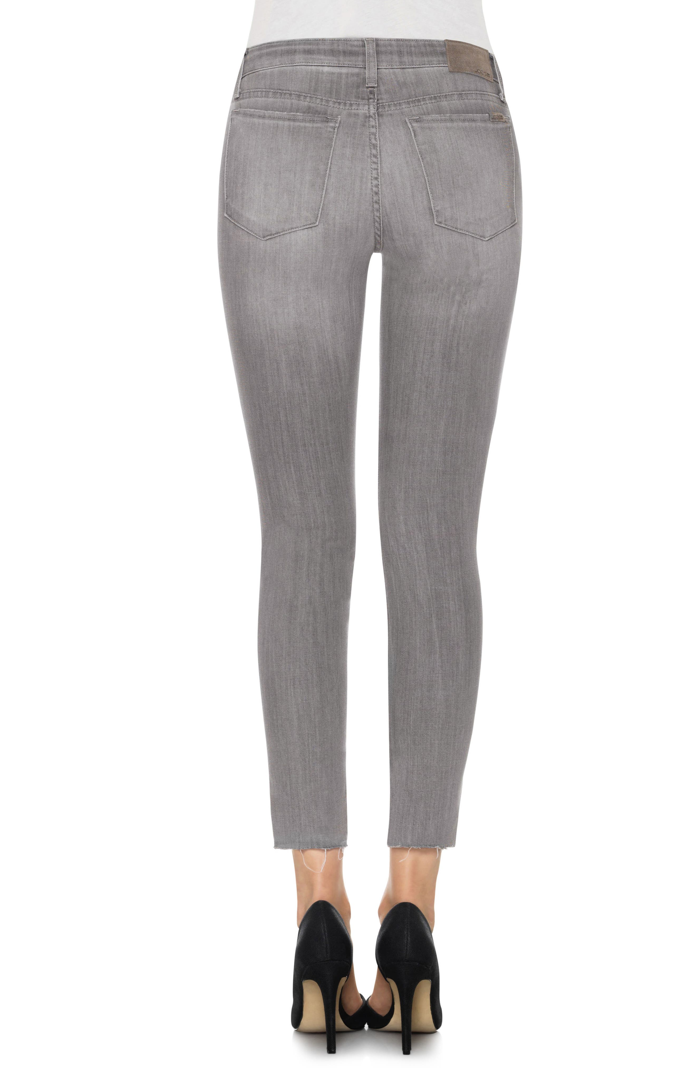 Cool Off - Charlie Step-Up Hem High Rise Skinny Jeans,                             Alternate thumbnail 2, color,                             050