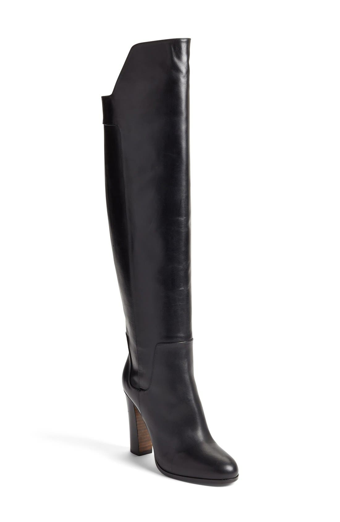 'Dempsey' Over the Knee Boot,                             Main thumbnail 1, color,                             003