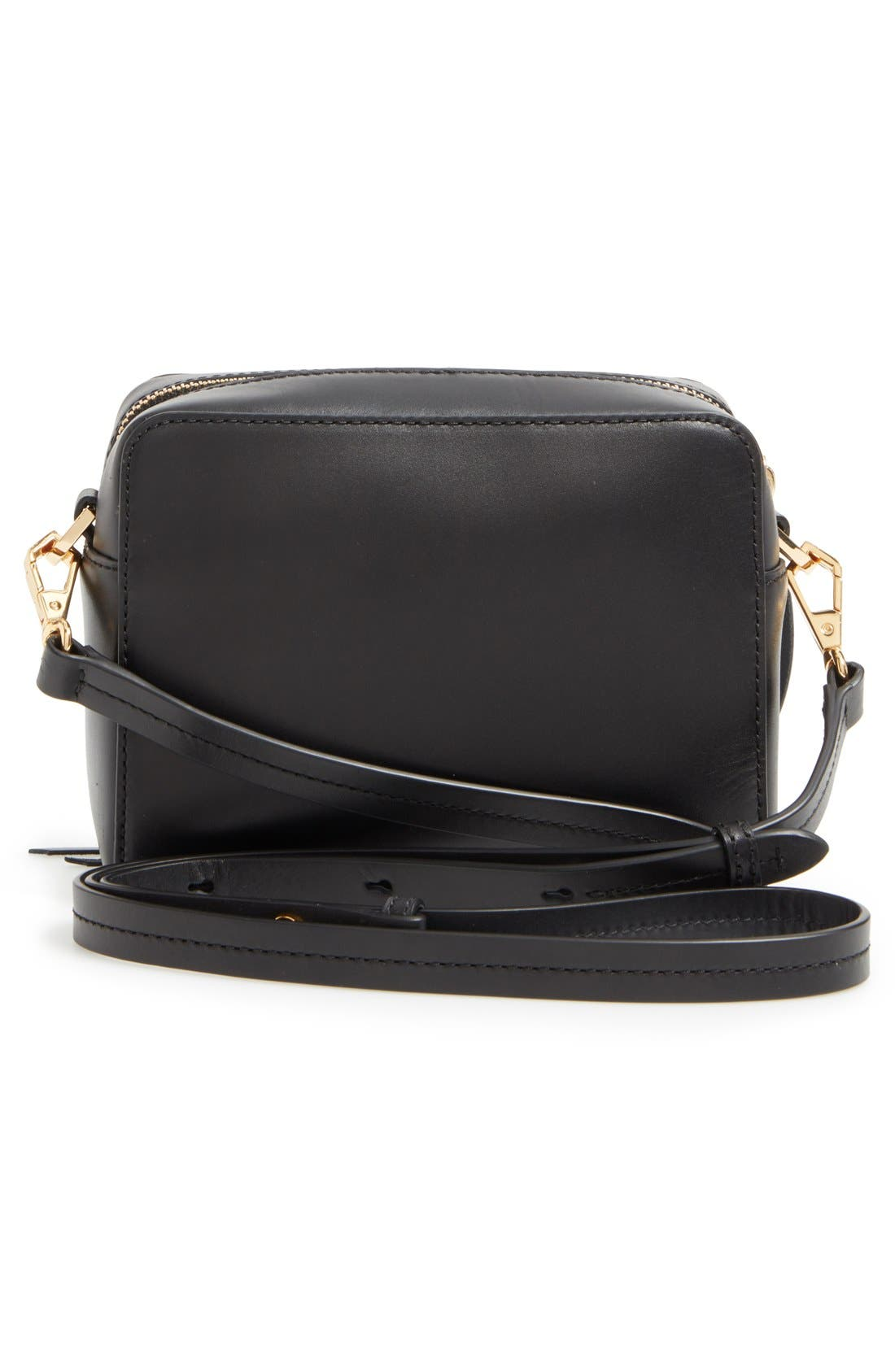 'Mini Sofia' Crossbody Bag,                             Alternate thumbnail 3, color,                             001