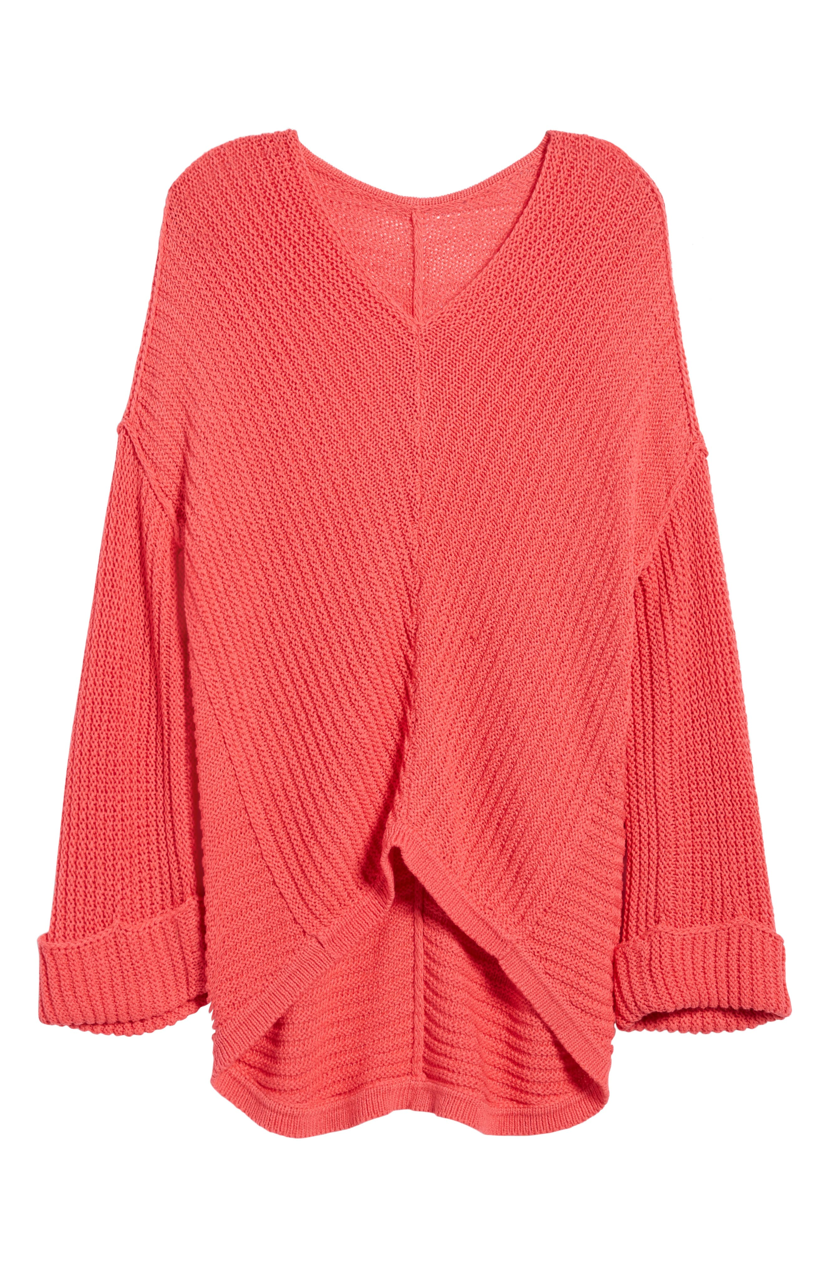 Cuffed Sleeve Sweater,                             Alternate thumbnail 22, color,
