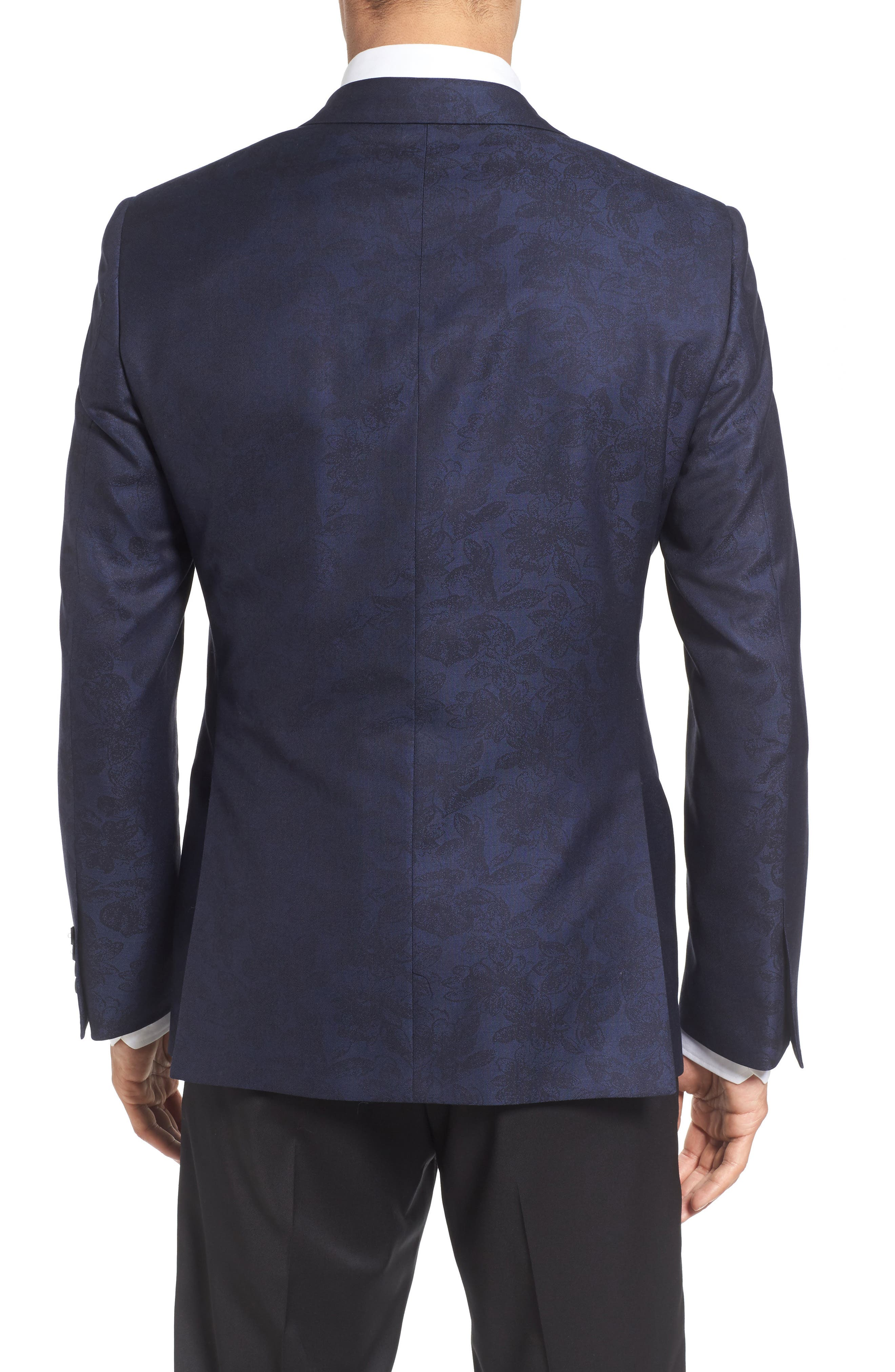 Classic Fit Wool & Cotton Dinner Jacket,                             Alternate thumbnail 2, color,                             410