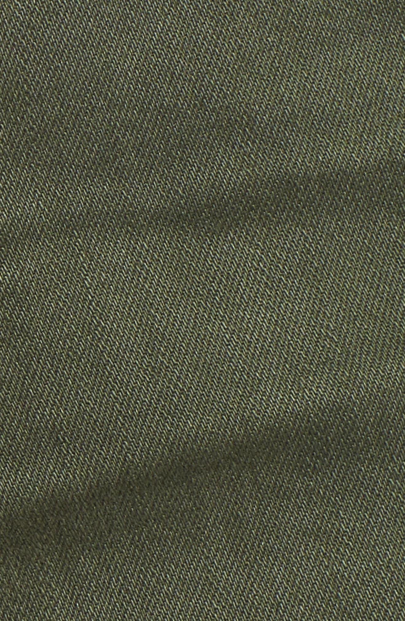 The Bryn High Waist Cutoff Denim Shorts,                             Alternate thumbnail 15, color,