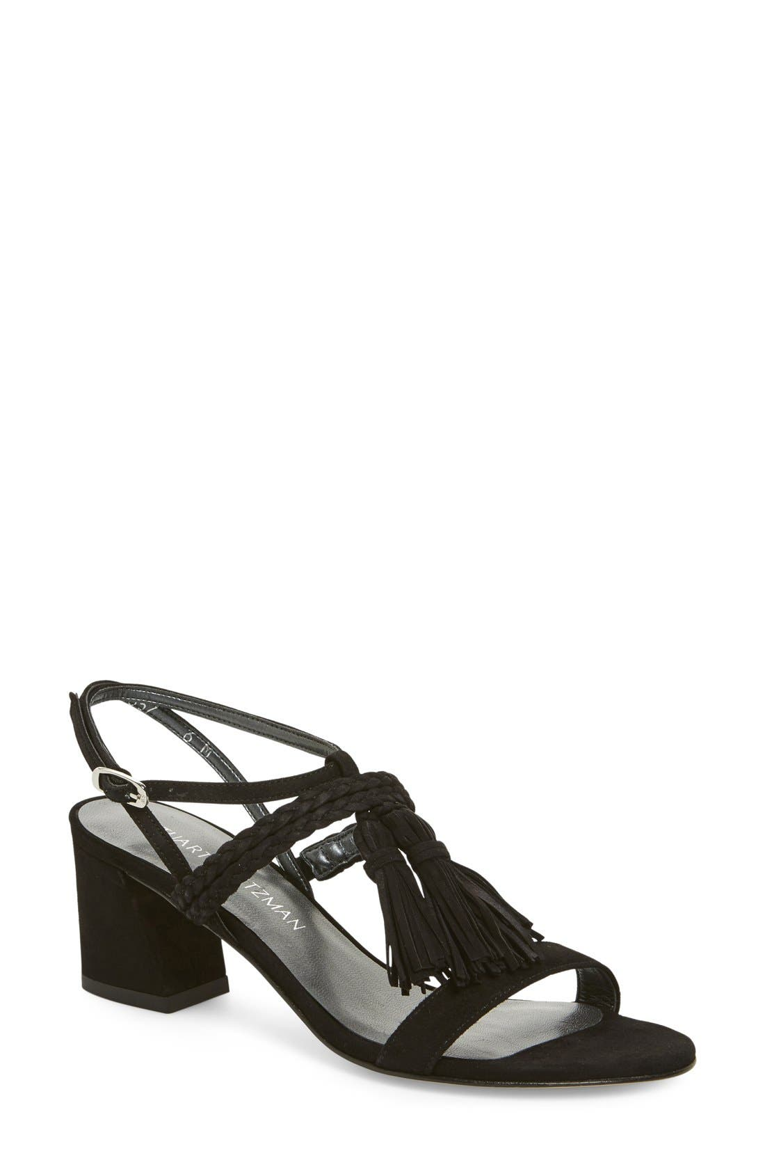 'Tasselmania' Strappy Sandal,                         Main,                         color,