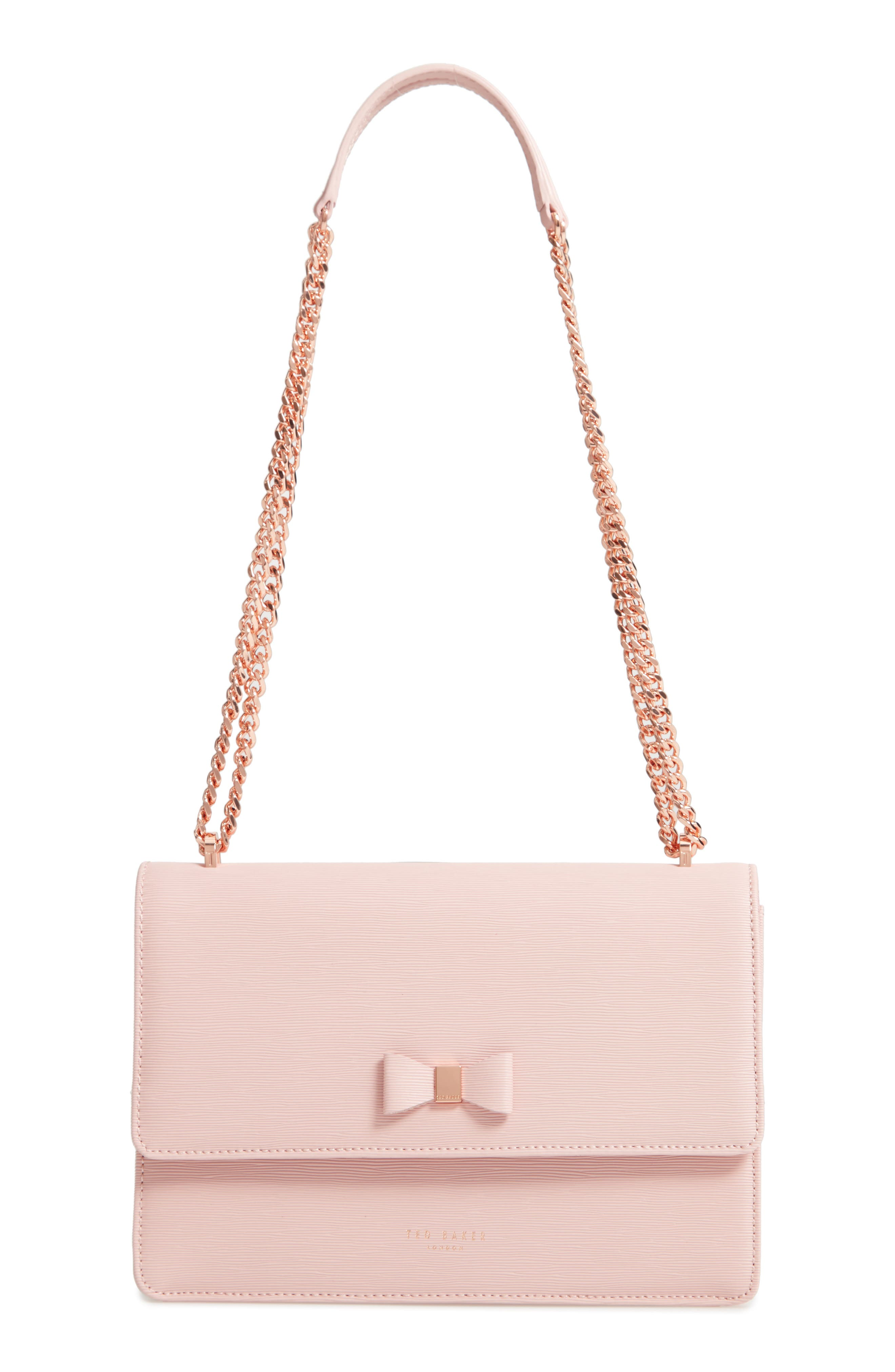 Bow Leather Crossbody Bag by Ted Baker London