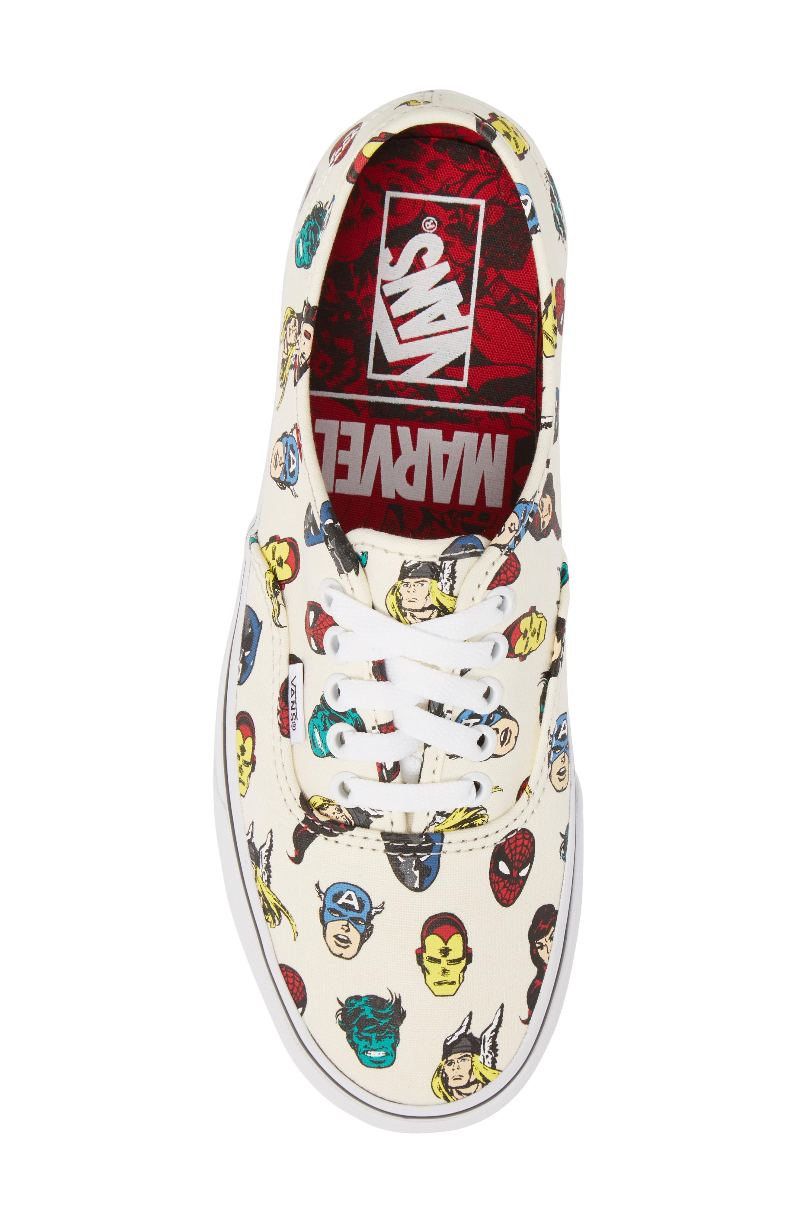 x Marvel<sup>®</sup> UA Authentic Sneaker,                             Alternate thumbnail 5, color,