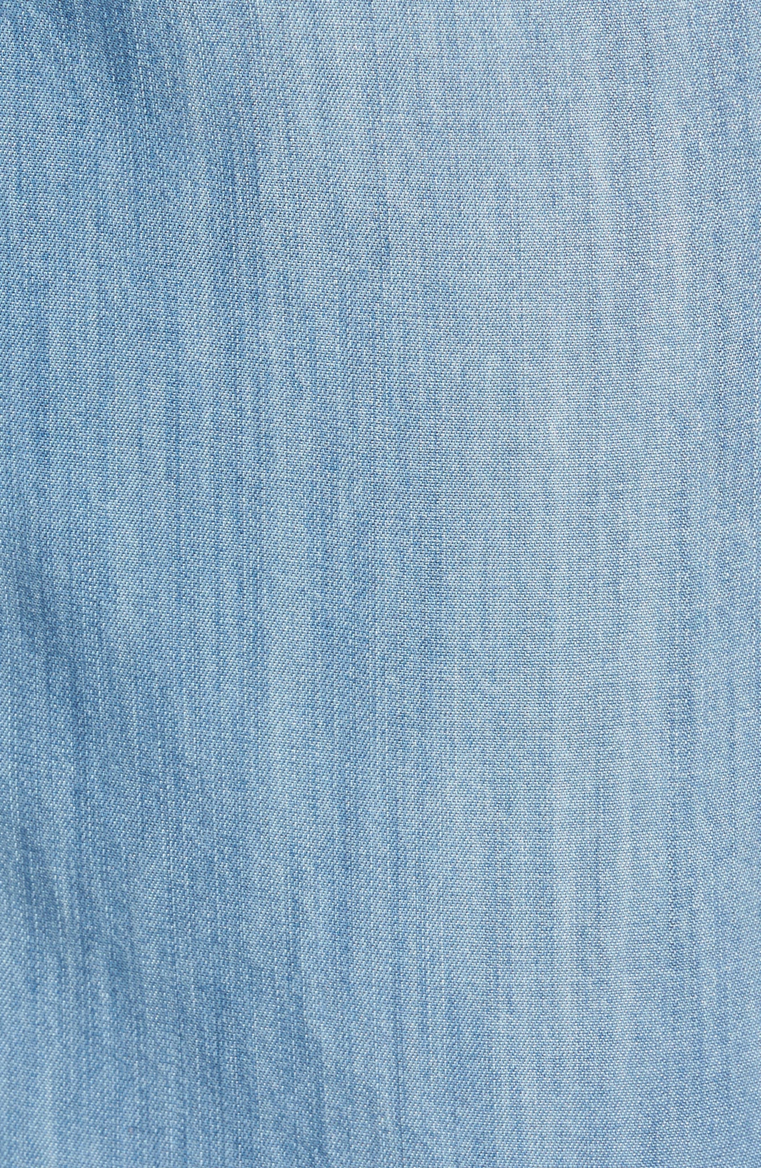 Drawstring Wide Leg Pants,                             Alternate thumbnail 5, color,                             420