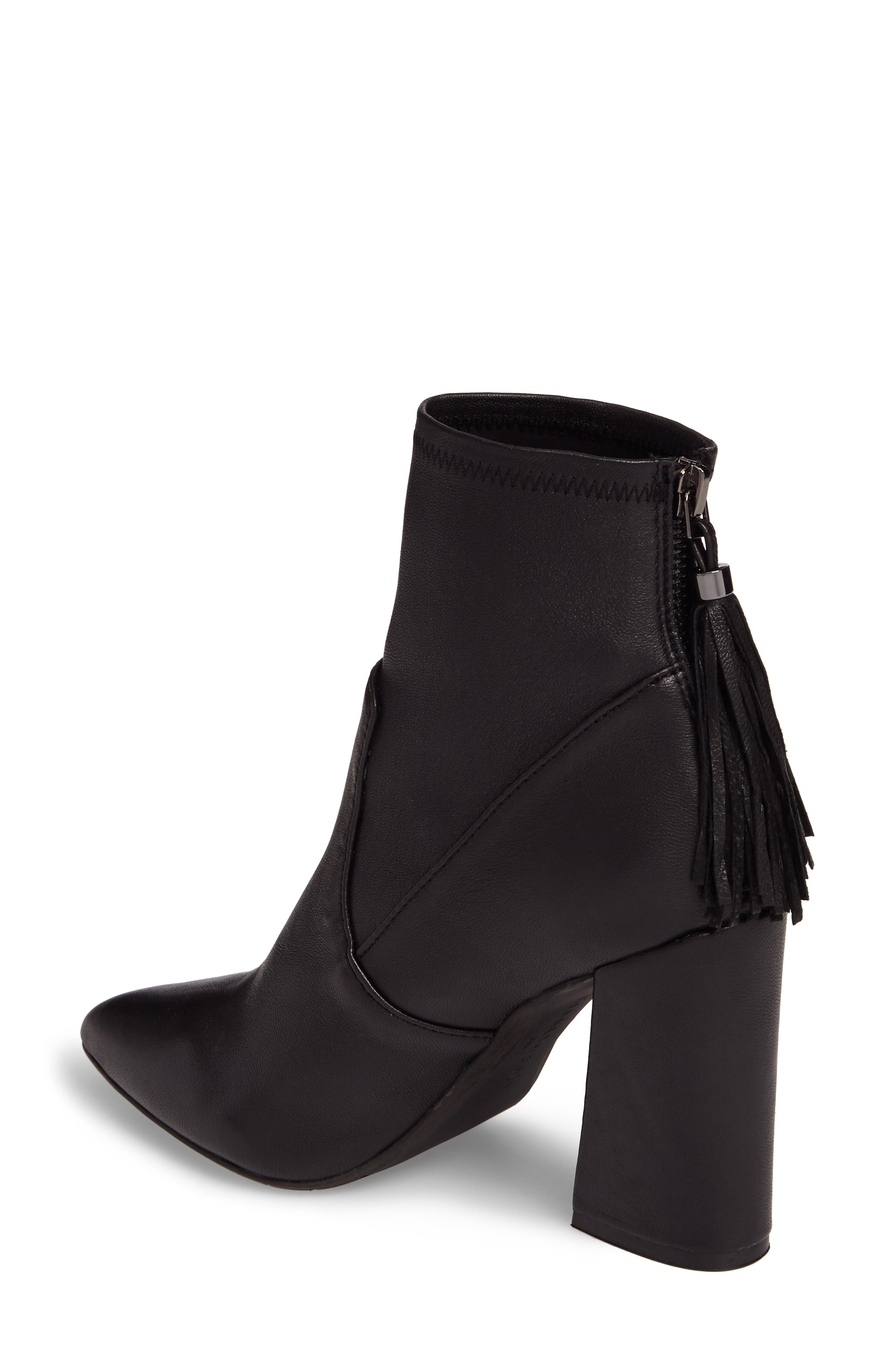 Gracelyn Pointy Toe Bootie,                             Alternate thumbnail 2, color,                             001