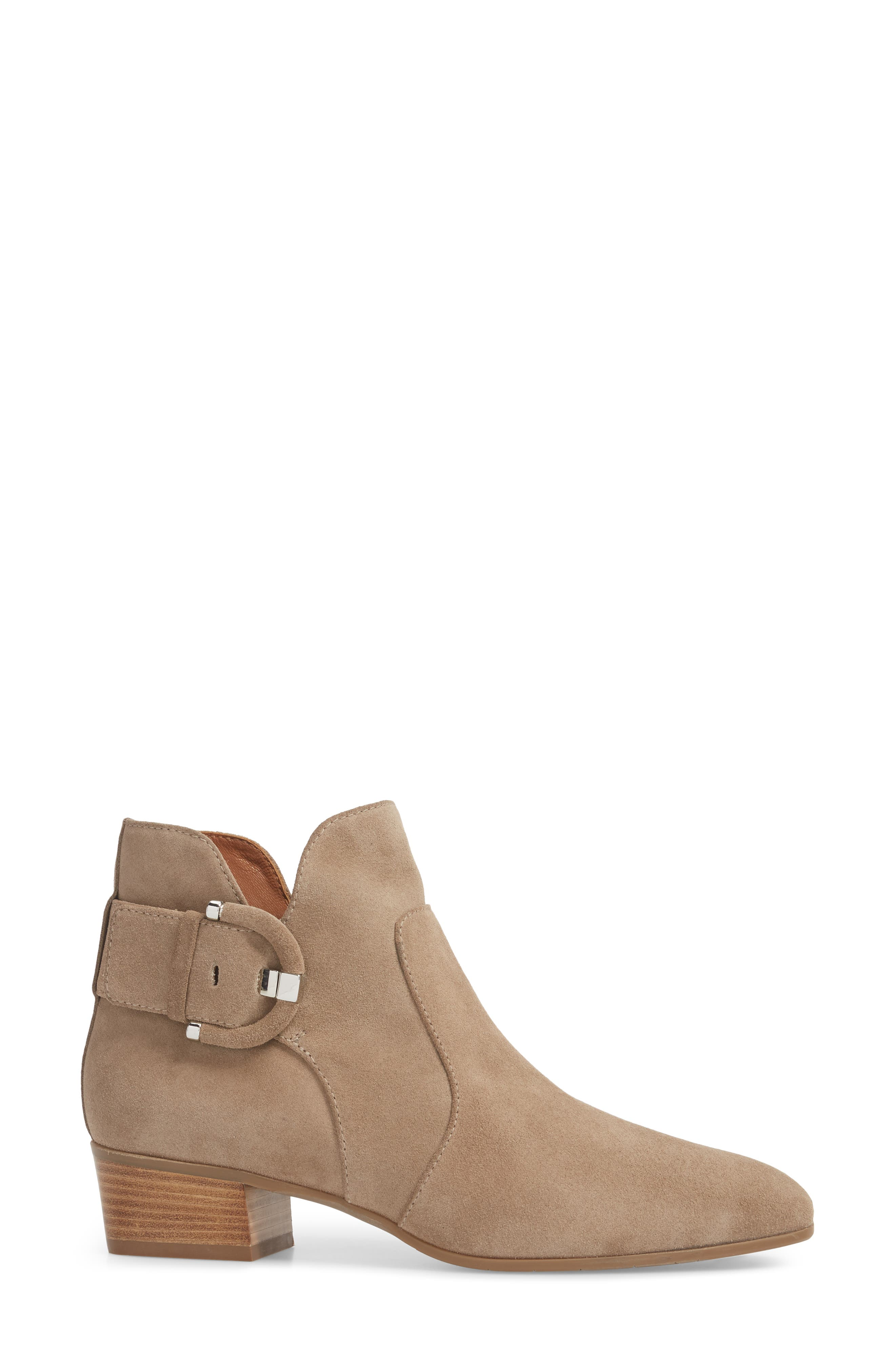 Fiamma Water Resistant Bootie,                             Alternate thumbnail 3, color,                             TAUPE