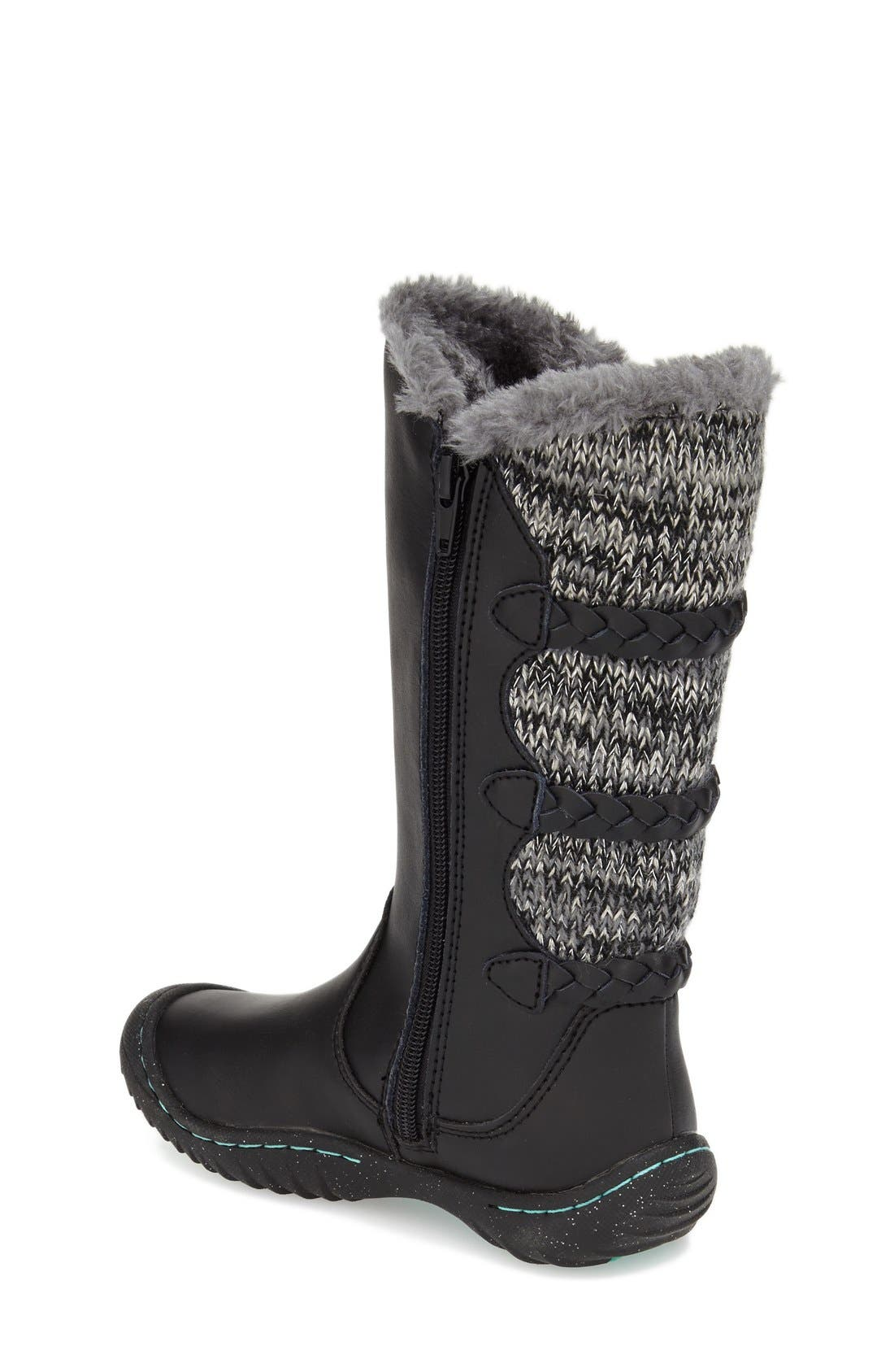 'Azami' Water Resistant Boot,                             Alternate thumbnail 2, color,                             001
