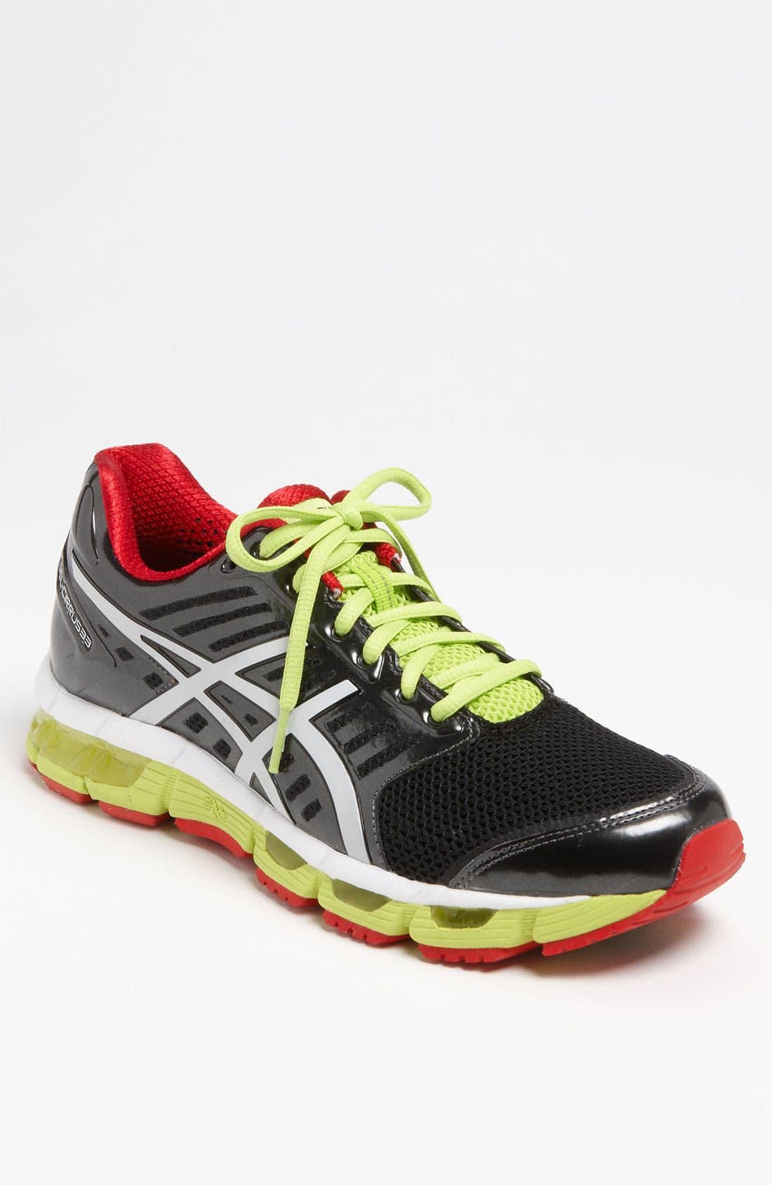 ASICS<SUP>®</SUP> 'GEL-Cirrus 33' Running Shoe, Main, color, 001