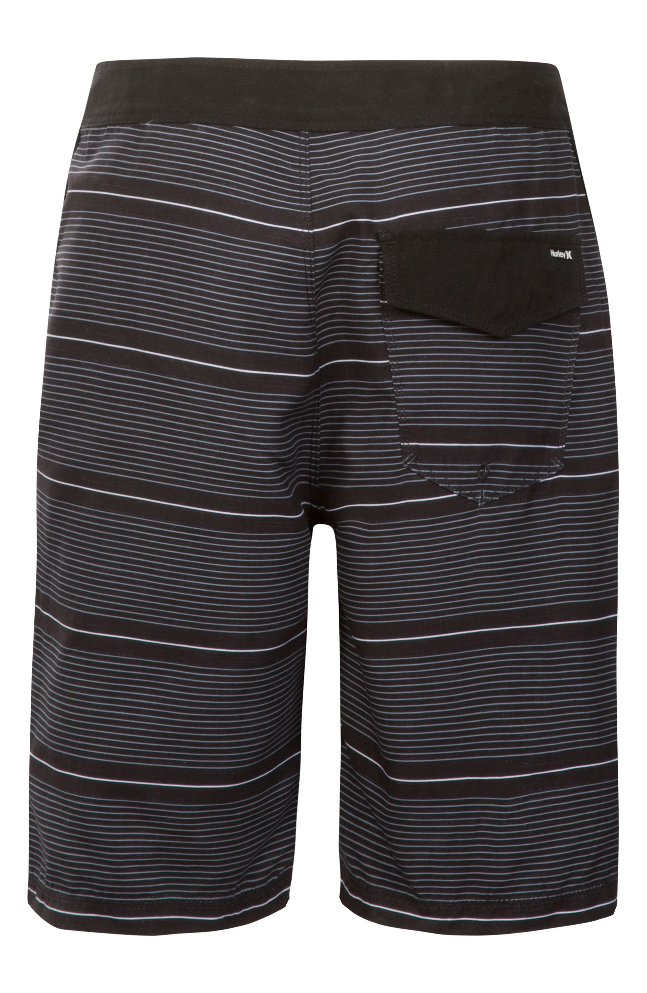 Shoreline Board Shorts,                             Alternate thumbnail 2, color,                             BLACK