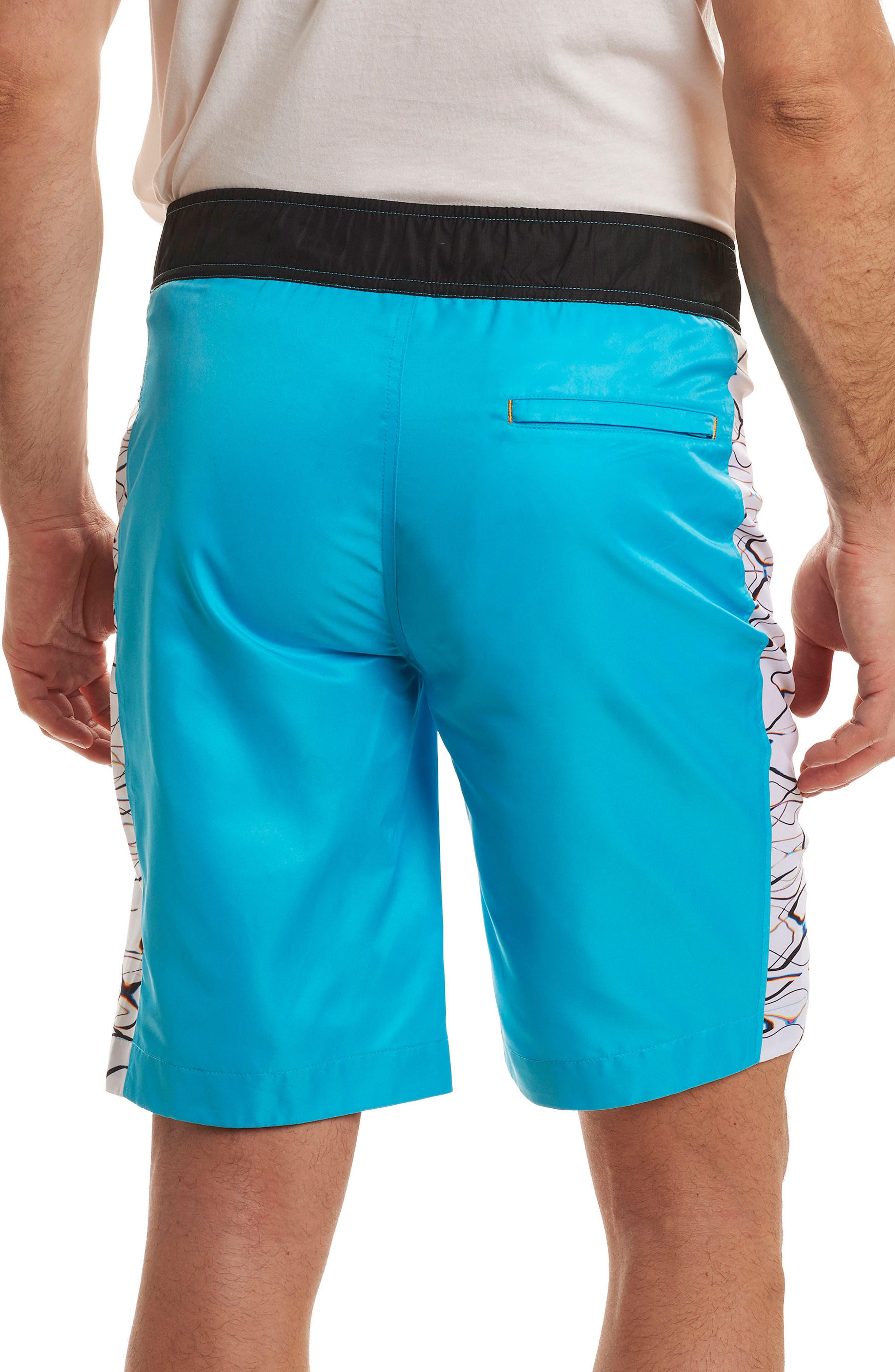 Maili Classic Fit Swim Trunks,                             Alternate thumbnail 2, color,                             459