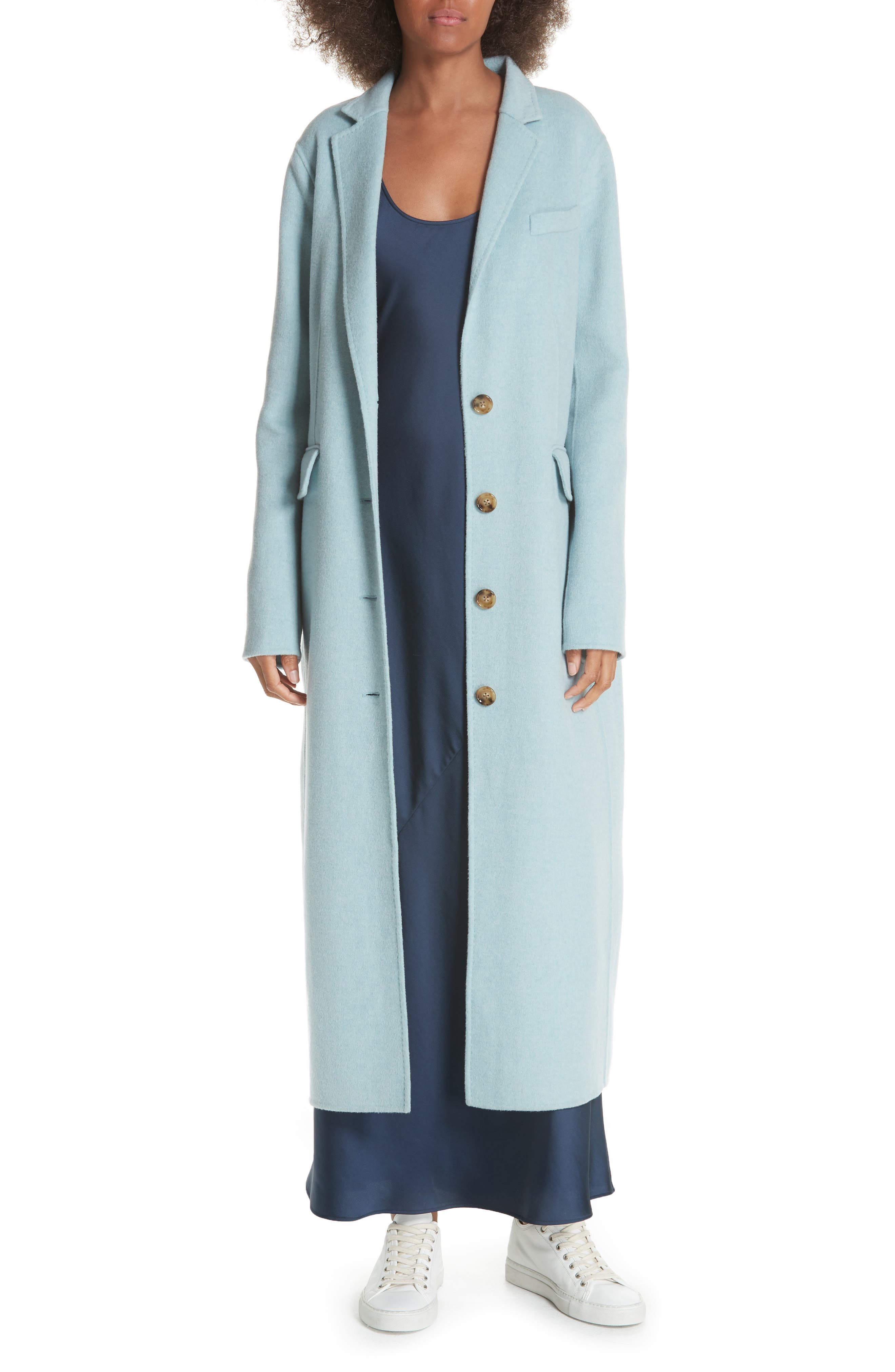 ELIZABETH AND JAMES,                             Russell Wool Blend Coat,                             Alternate thumbnail 7, color,                             400