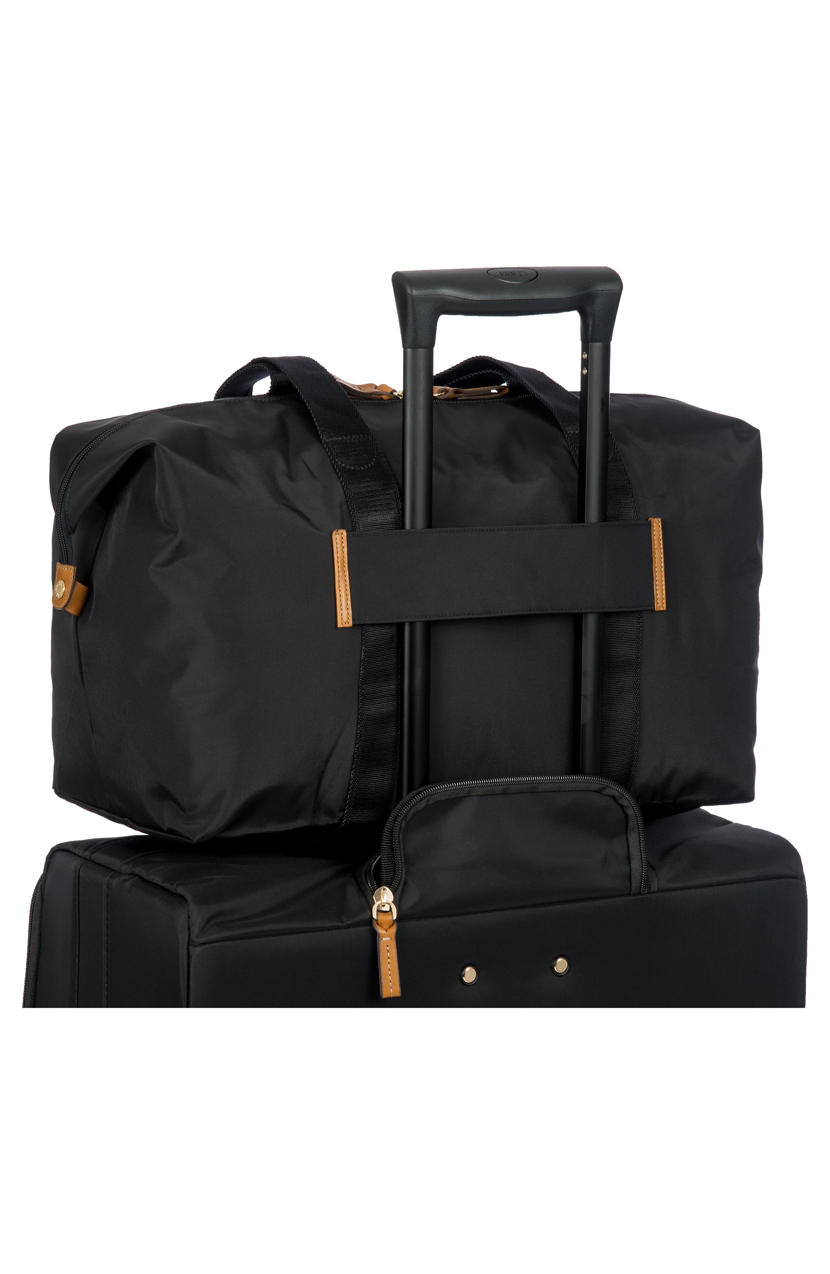 X-Bag 18-Inch Folding Duffel Bag,                             Alternate thumbnail 2, color,                             BLACK