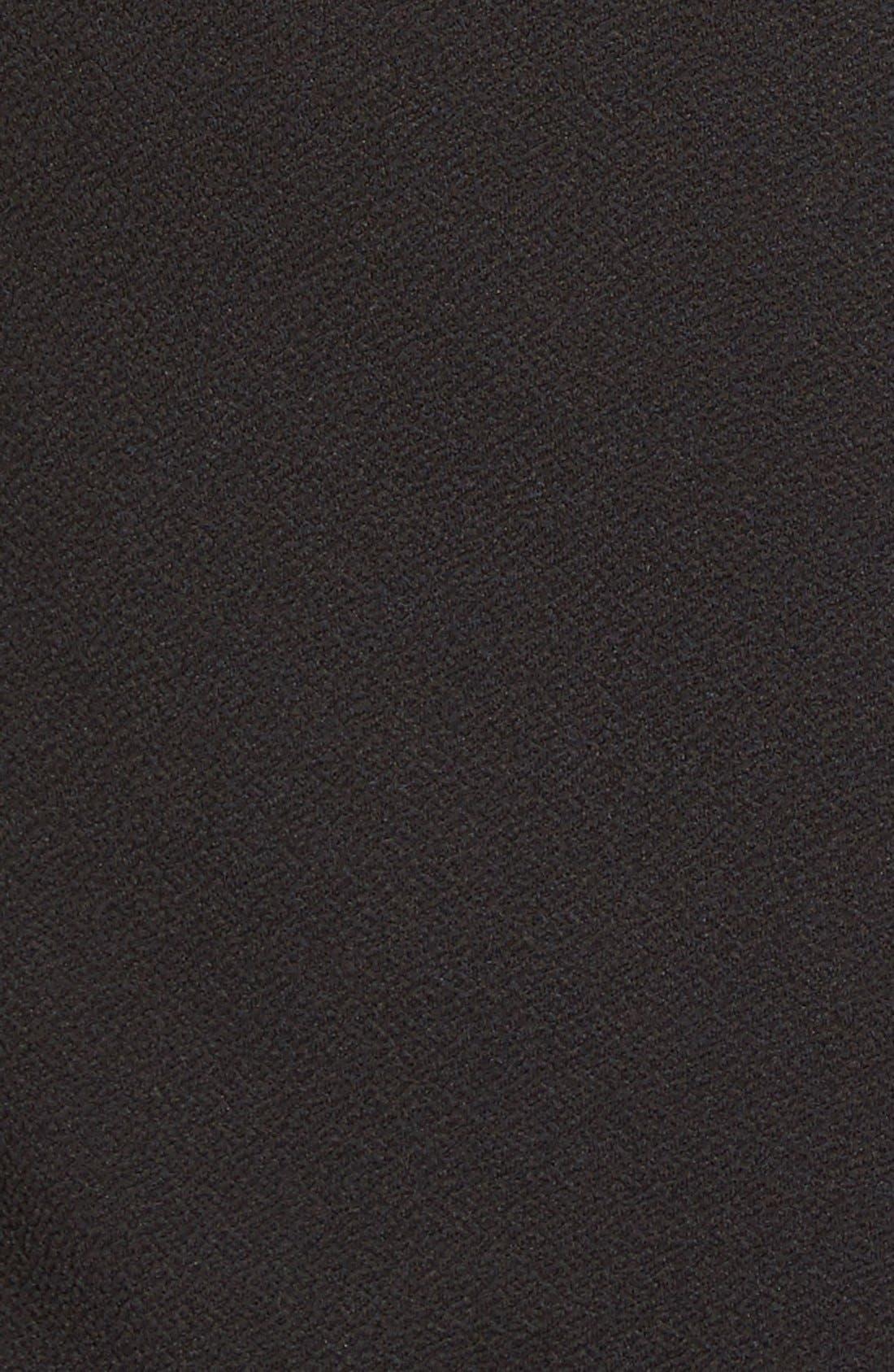 Stretch Crepe Tank Dress,                             Alternate thumbnail 2, color,                             001