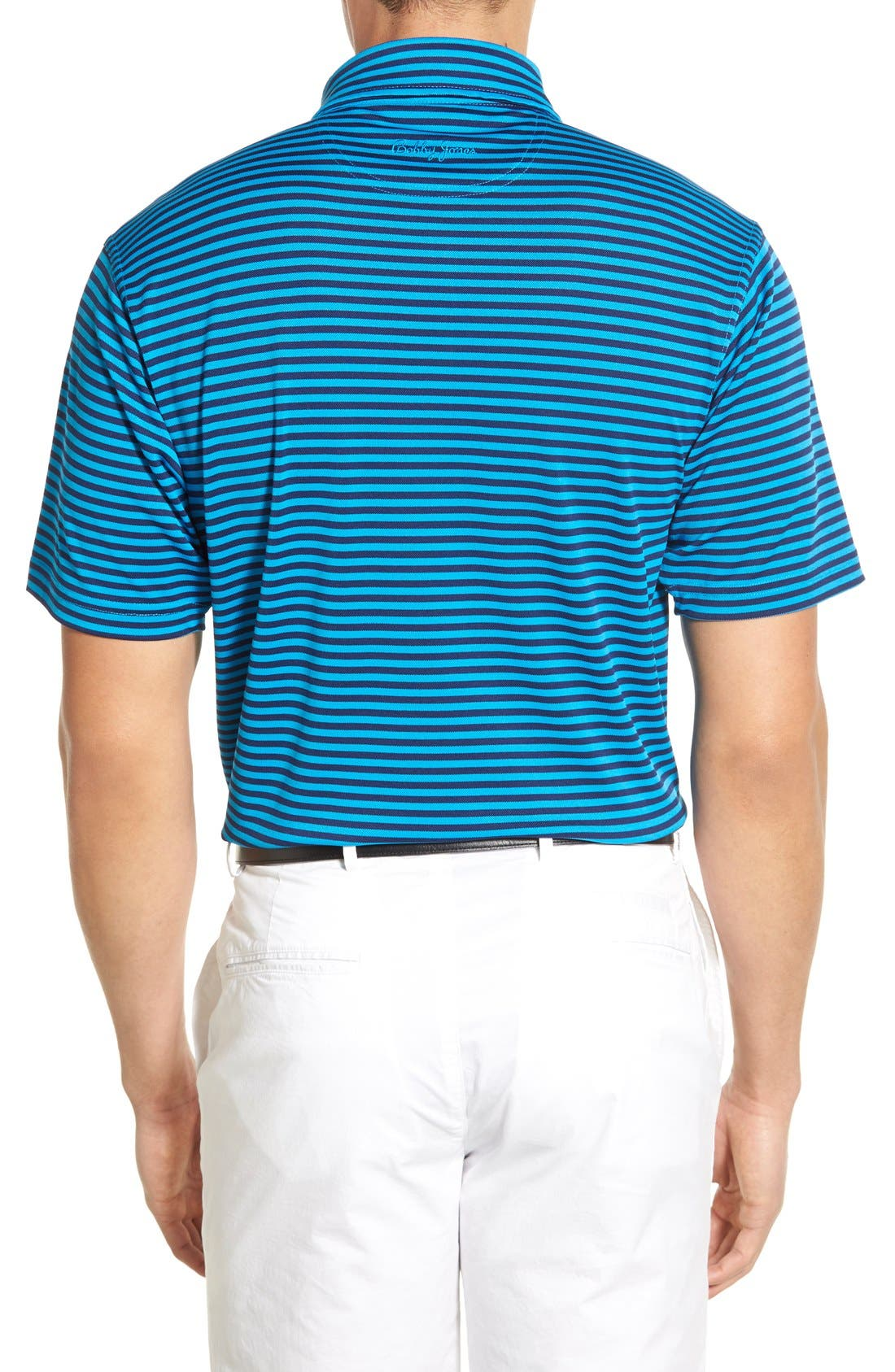 XH2O Feed Stripe Stretch Golf Polo,                             Alternate thumbnail 28, color,