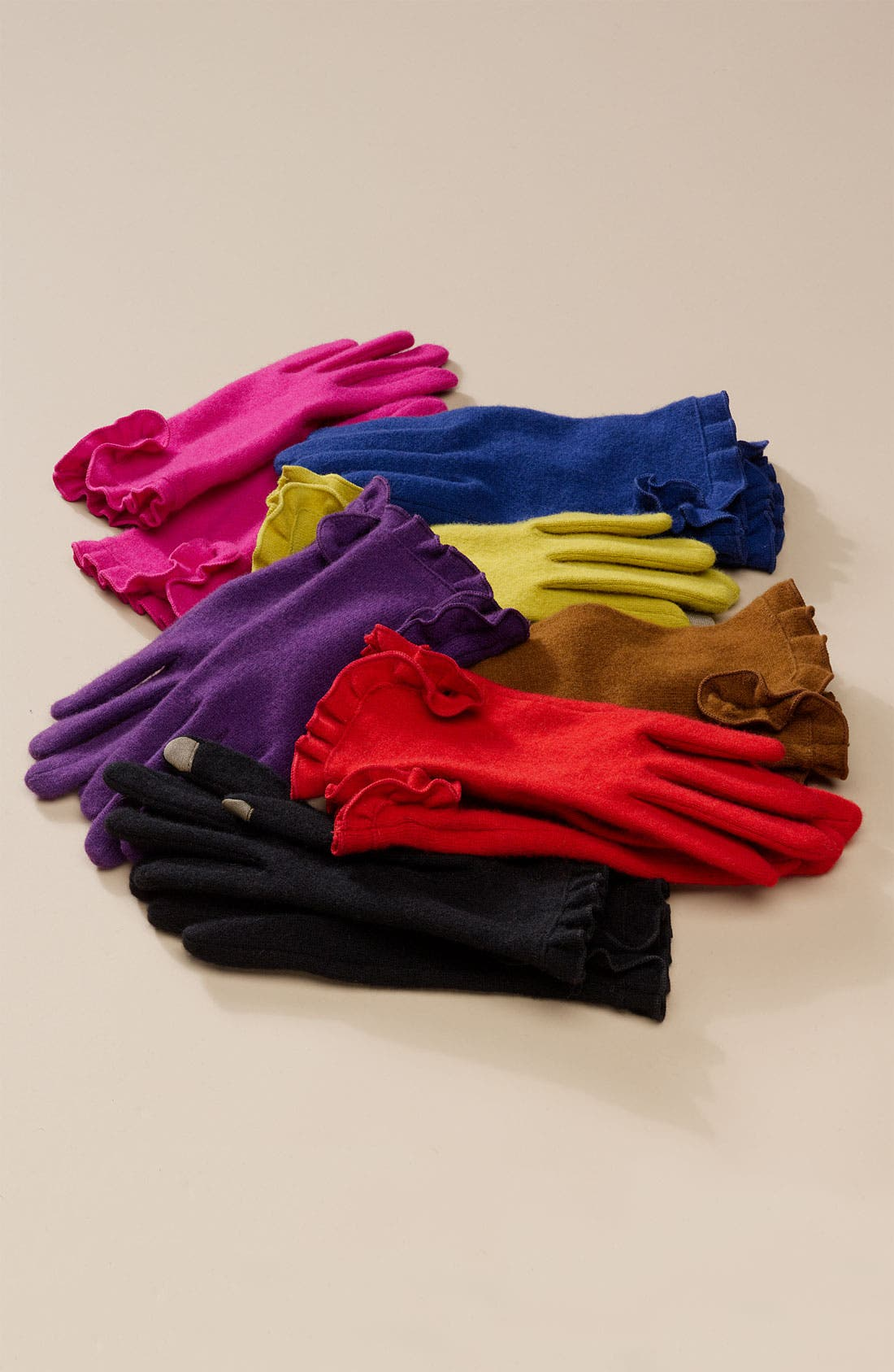 ECHO,                             'Touch' Tech Gloves,                             Alternate thumbnail 2, color,                             001