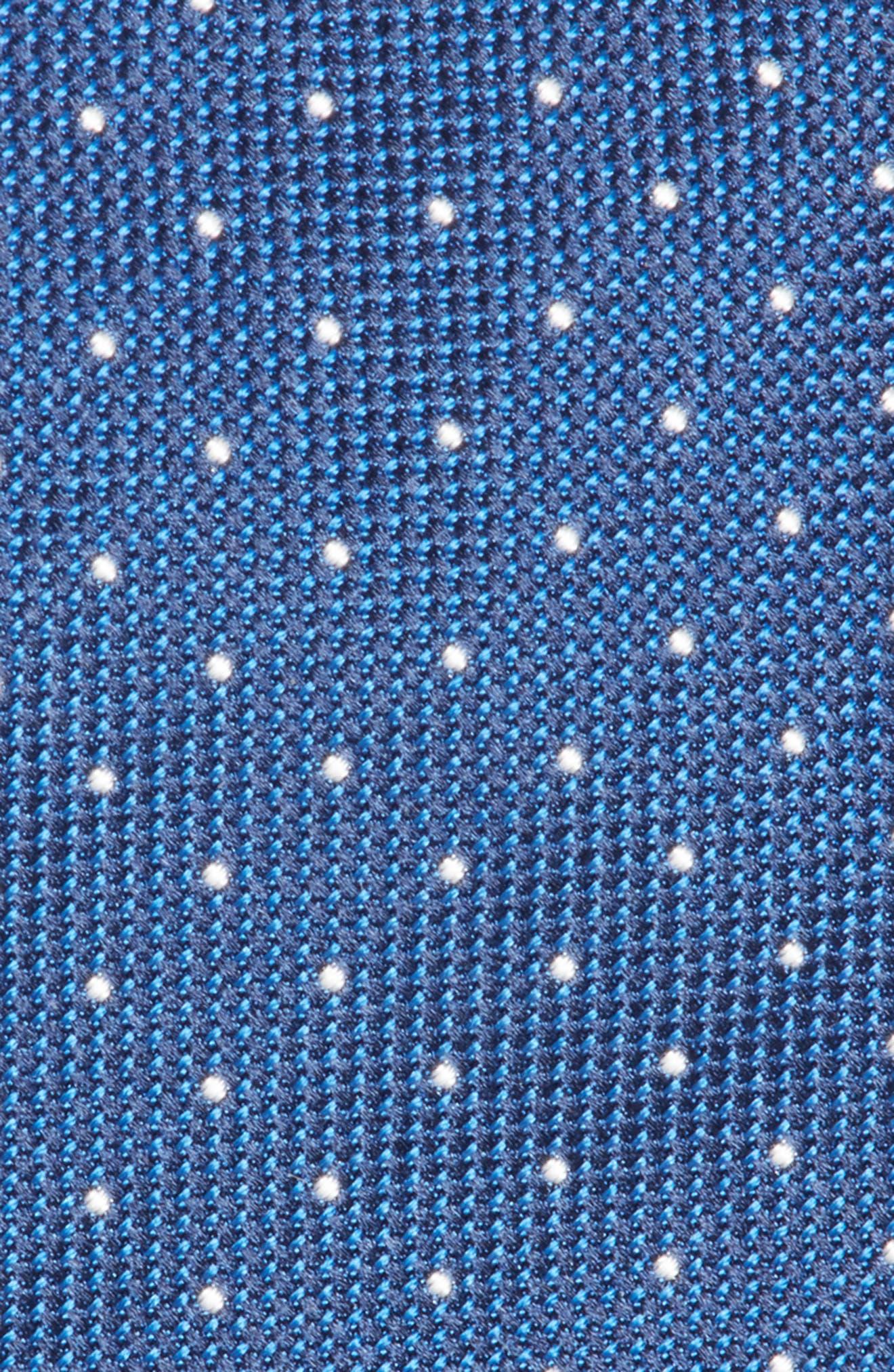 Dot Silk Tie,                             Alternate thumbnail 2, color,                             400