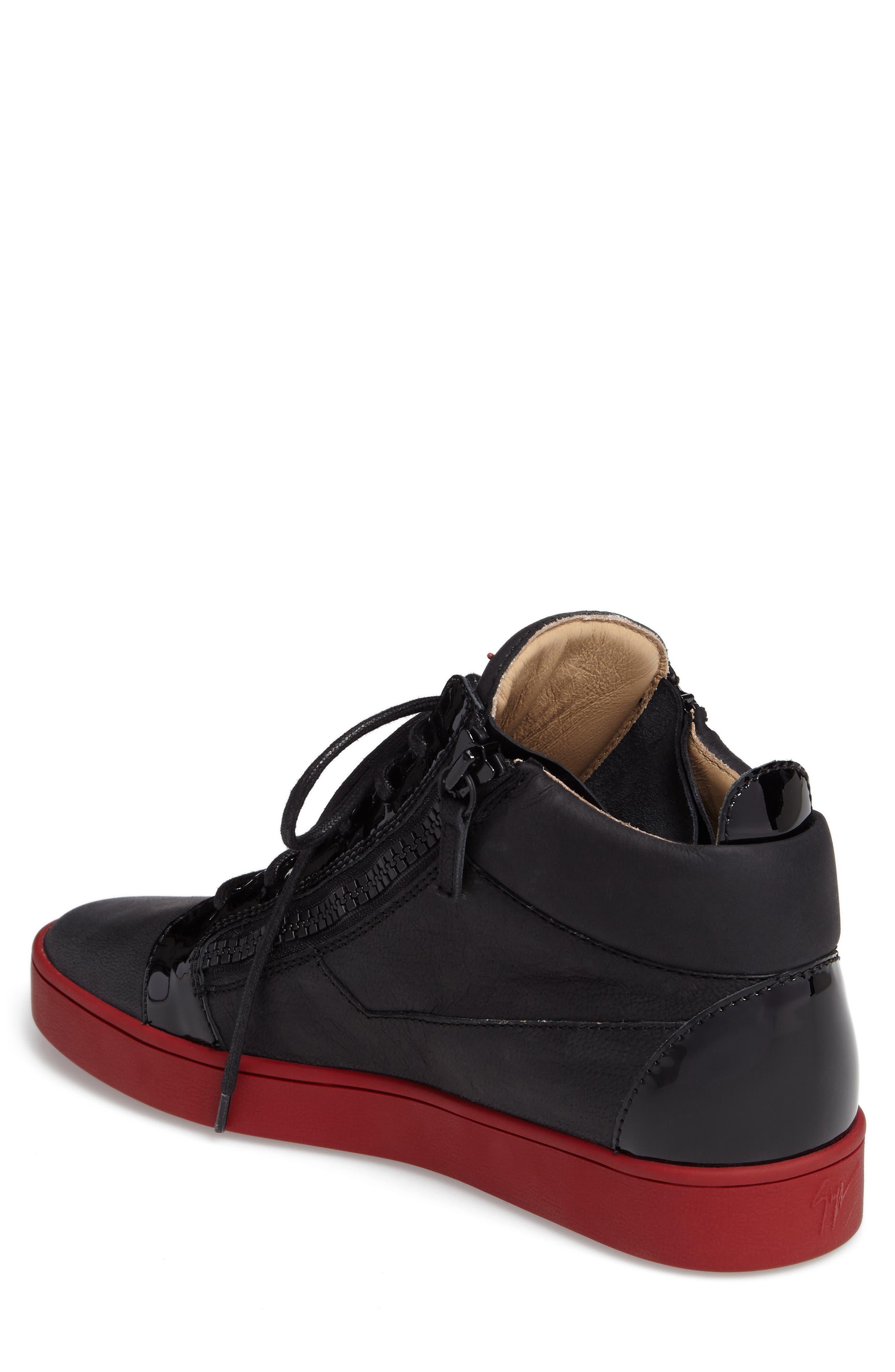 Mid Top Sneaker,                             Alternate thumbnail 2, color,                             001