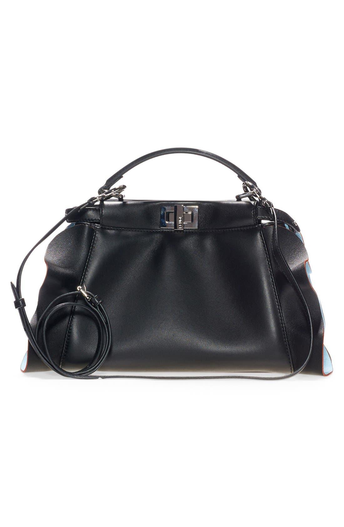 'Mini Peekaboo - Wave' Leather Bag,                             Alternate thumbnail 2, color,                             015