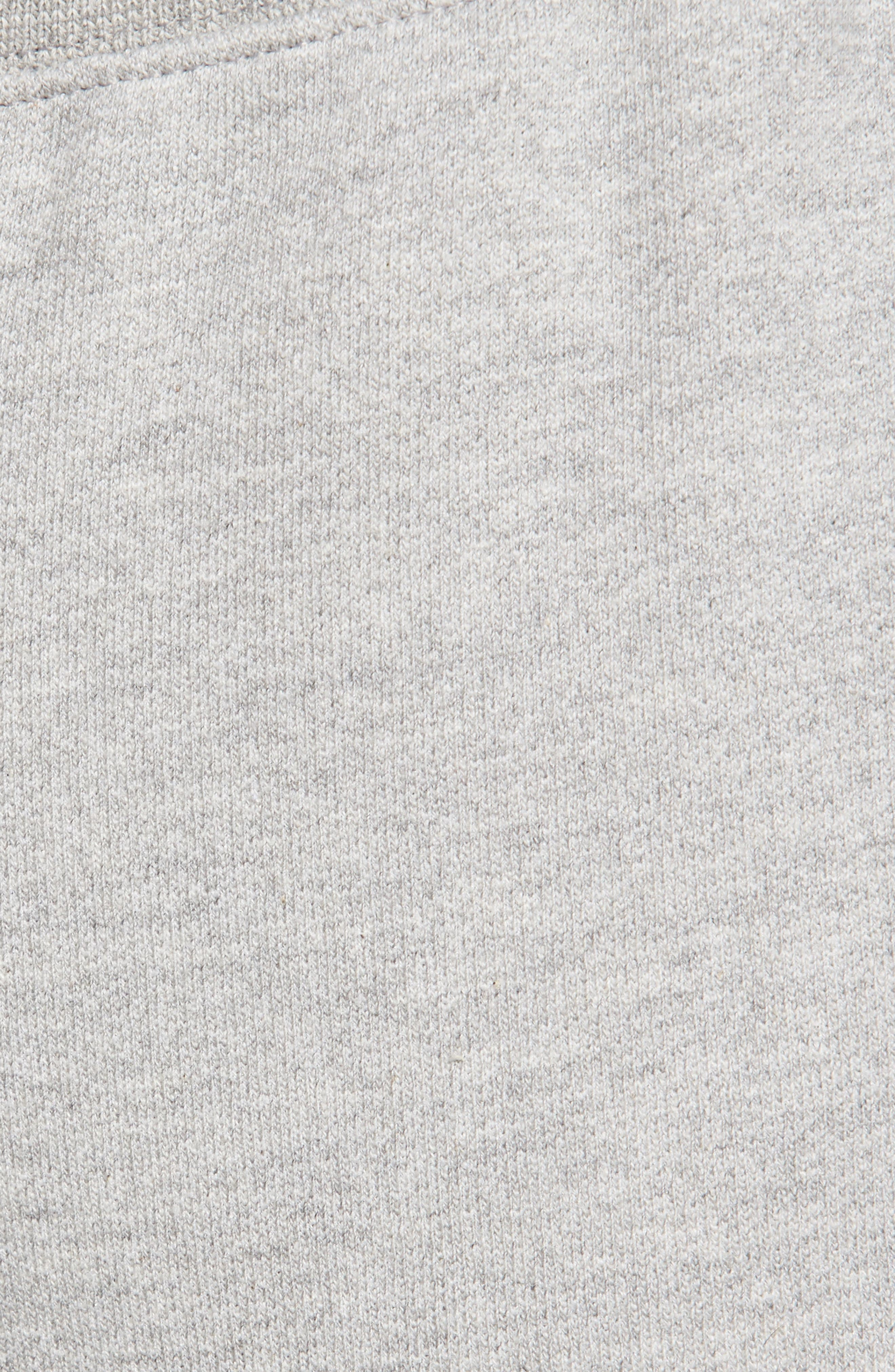 Reverse Weave<sup>®</sup> Jogger Pants,                             Alternate thumbnail 5, color,                             OXFORD GREY