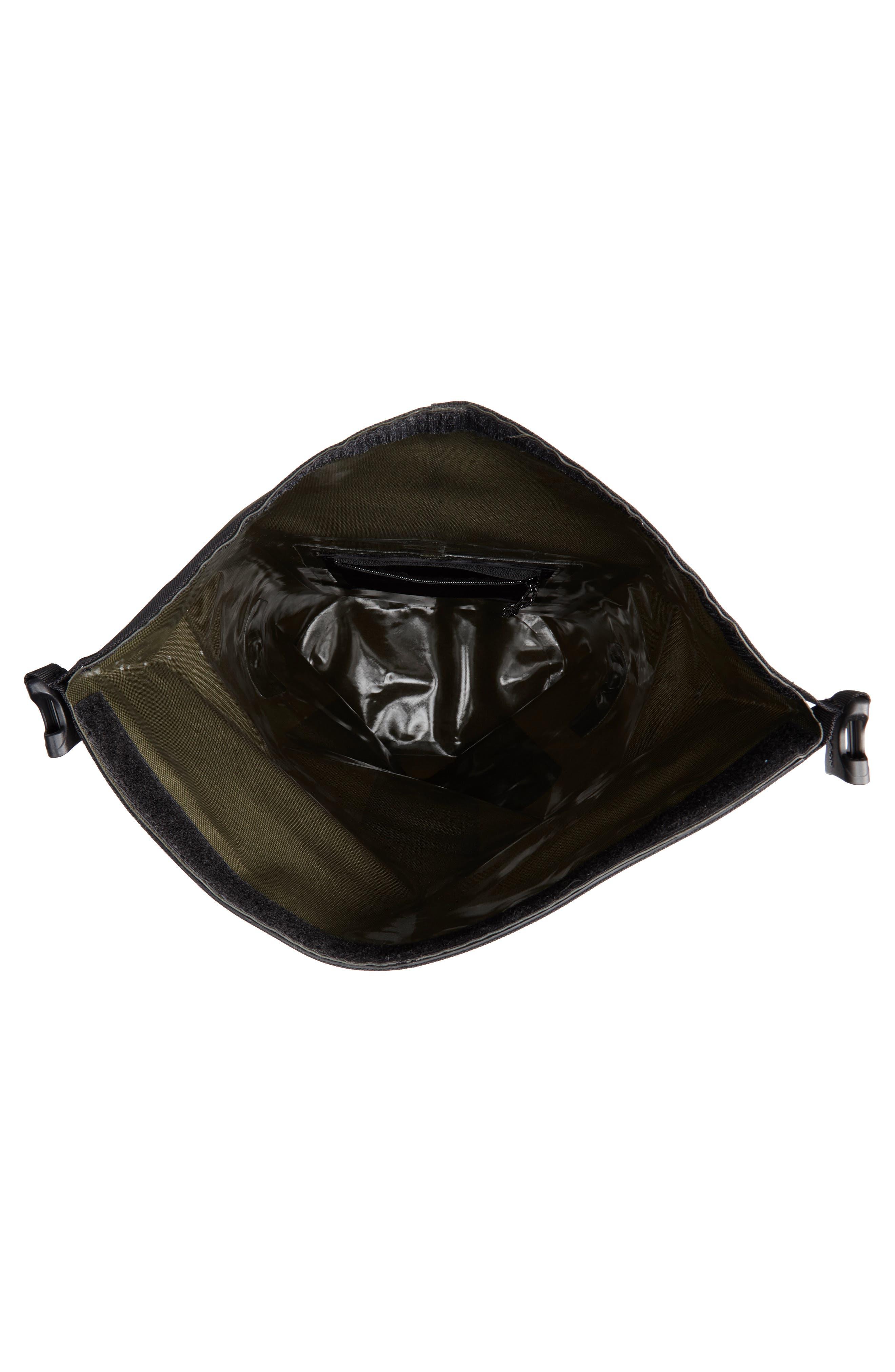 Dry Waterproof Backpack,                             Alternate thumbnail 4, color,                             GREEN