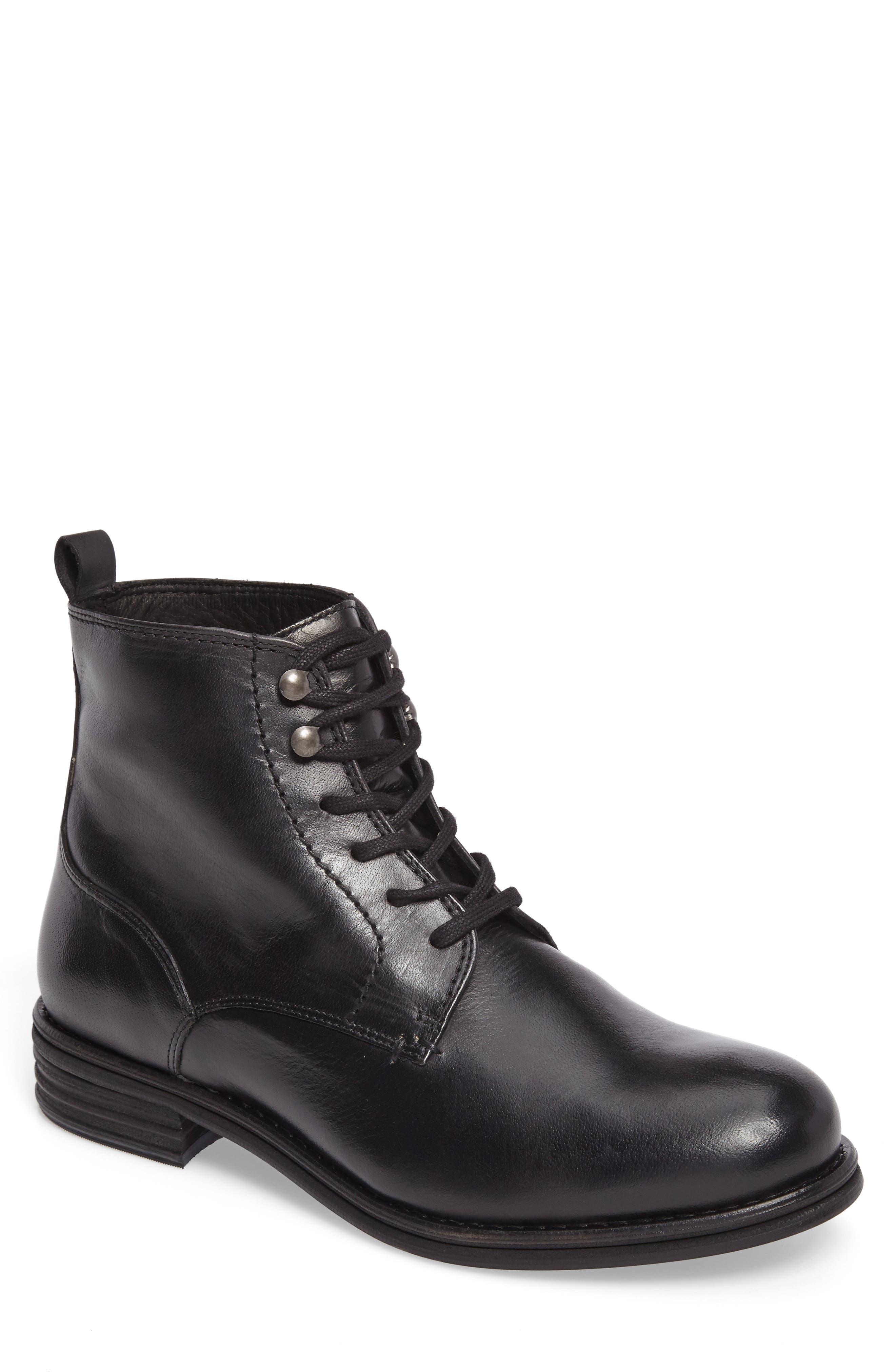 VINCE CAMUTO,                             Cordie Plain Toe Boot,                             Main thumbnail 1, color,                             001