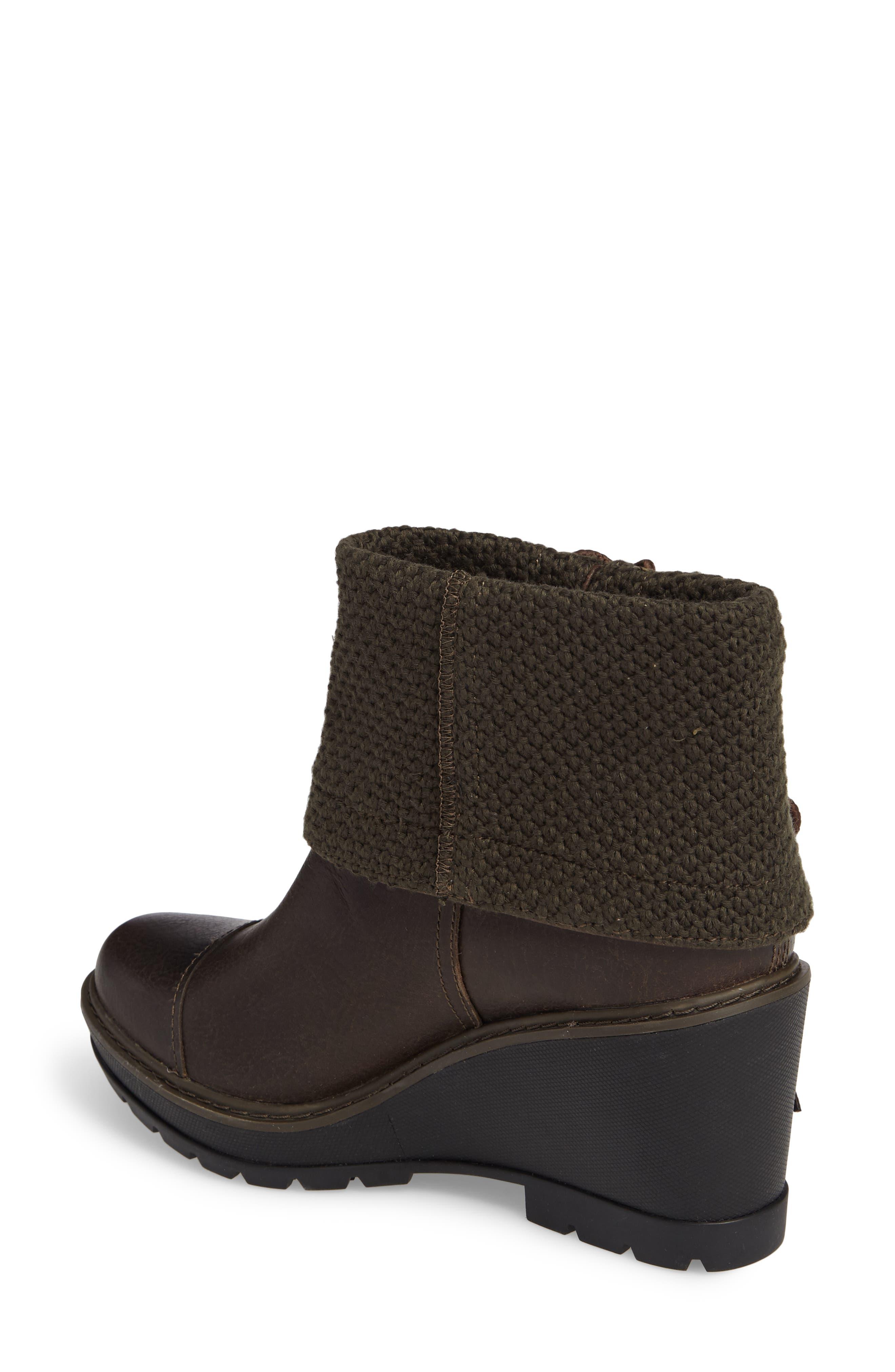 Kellis Fold Down Water Resistant Boot,                             Alternate thumbnail 4, color,