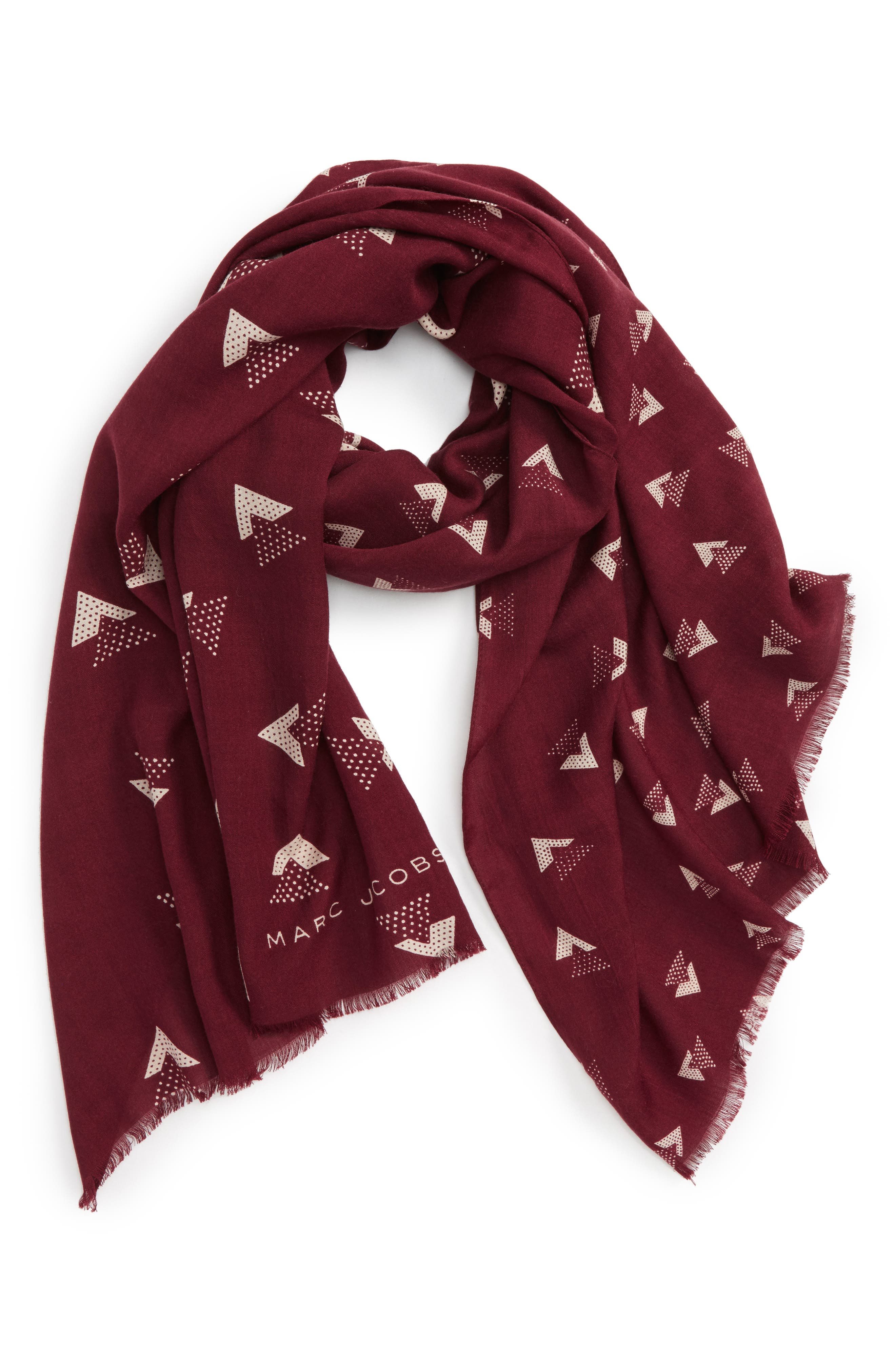 Triangles Scarf,                             Alternate thumbnail 3, color,                             930