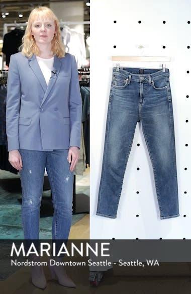 Rocket Crop Skinny Jeans, sales video thumbnail