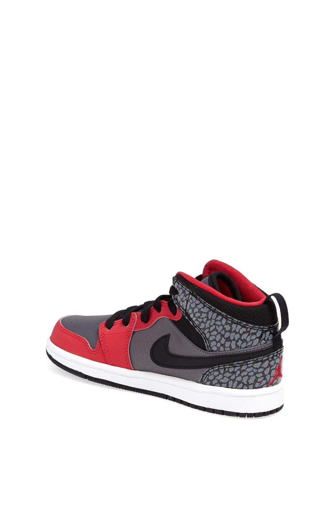 'Air Jordan 1 Mid' Sneaker,                             Alternate thumbnail 4, color,                             019