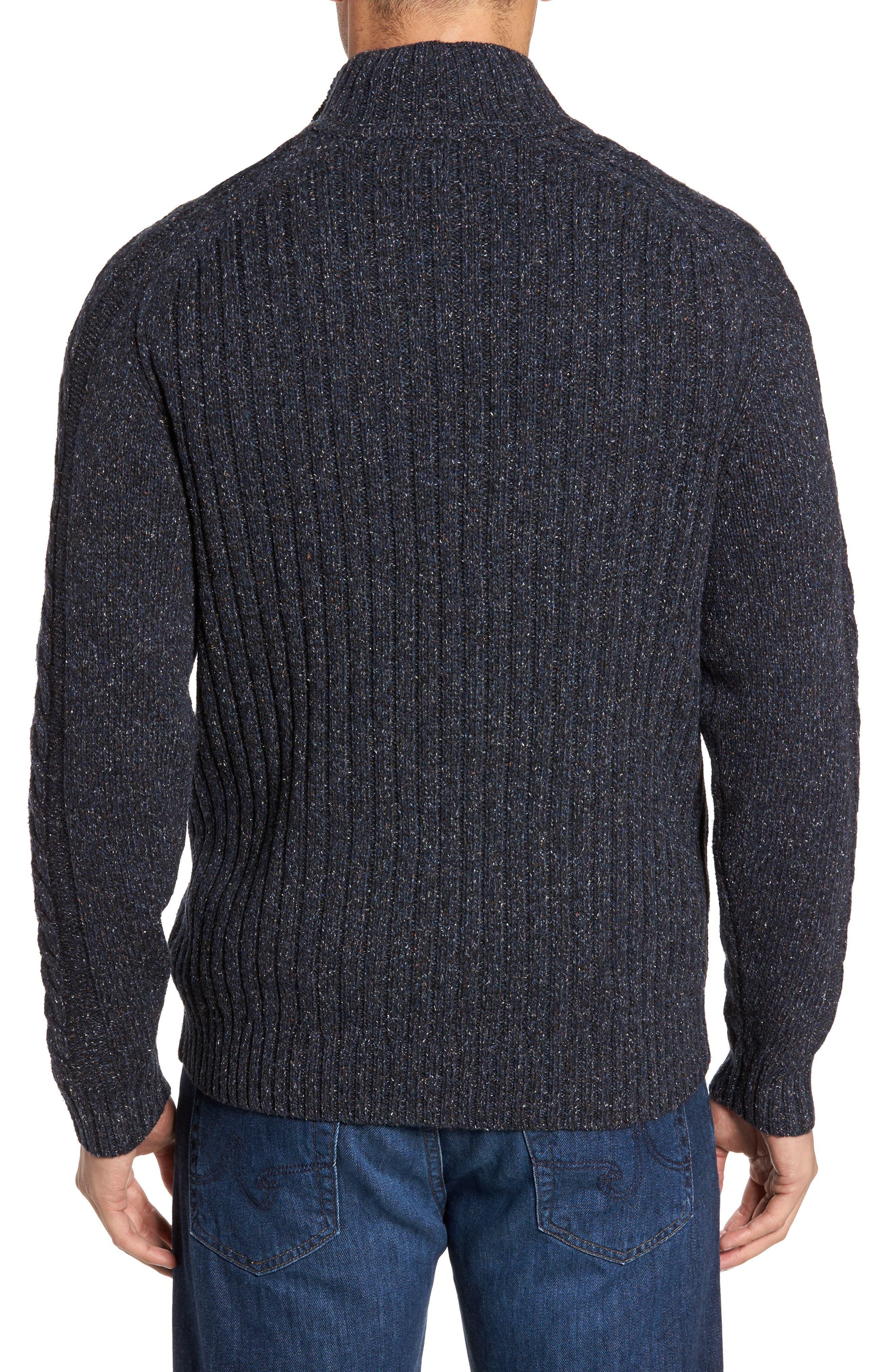 Hamada Quarter Zip Sweater,                             Alternate thumbnail 2, color,                             401