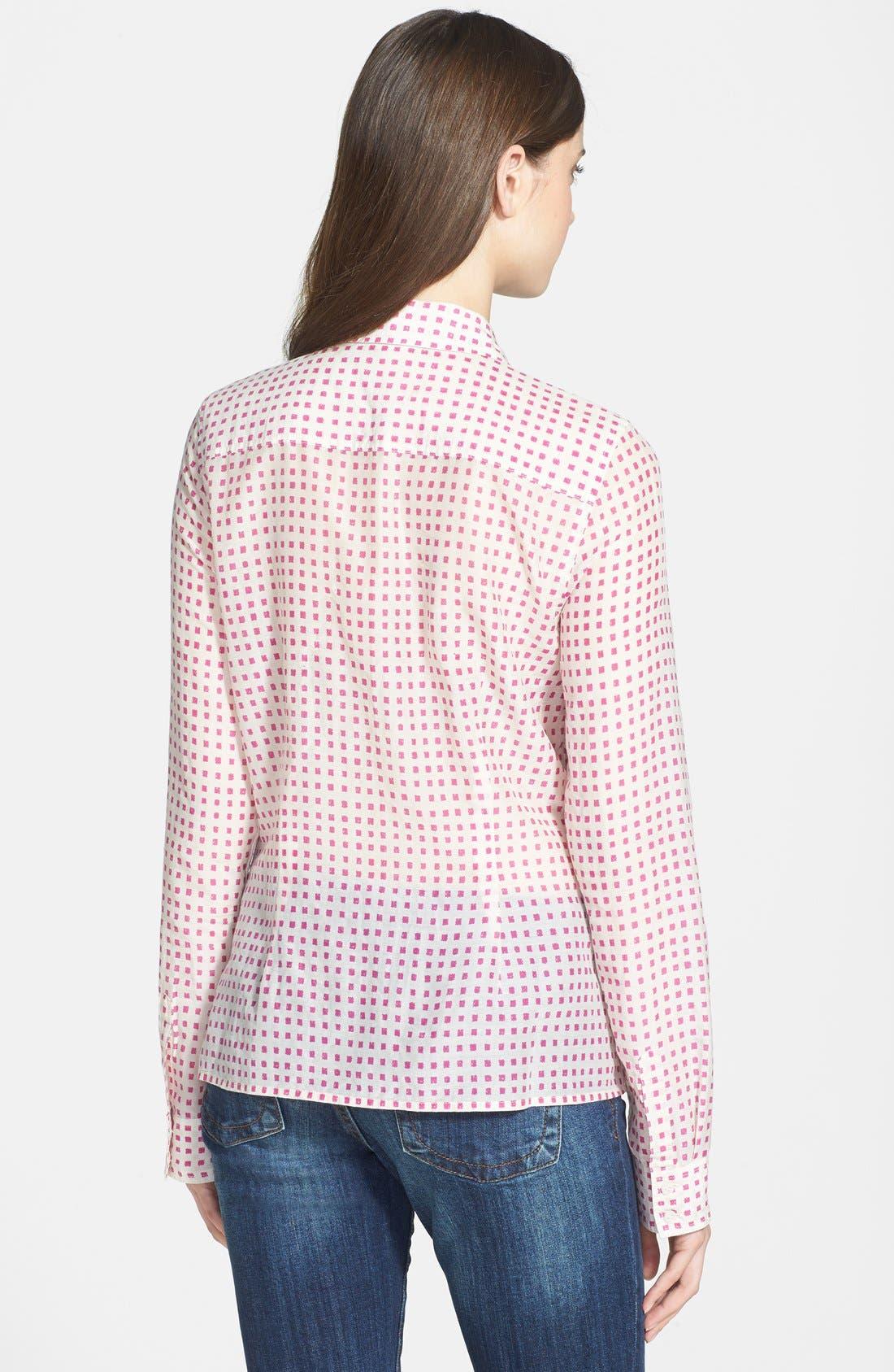 Cotton & Silk Shirt,                             Alternate thumbnail 107, color,