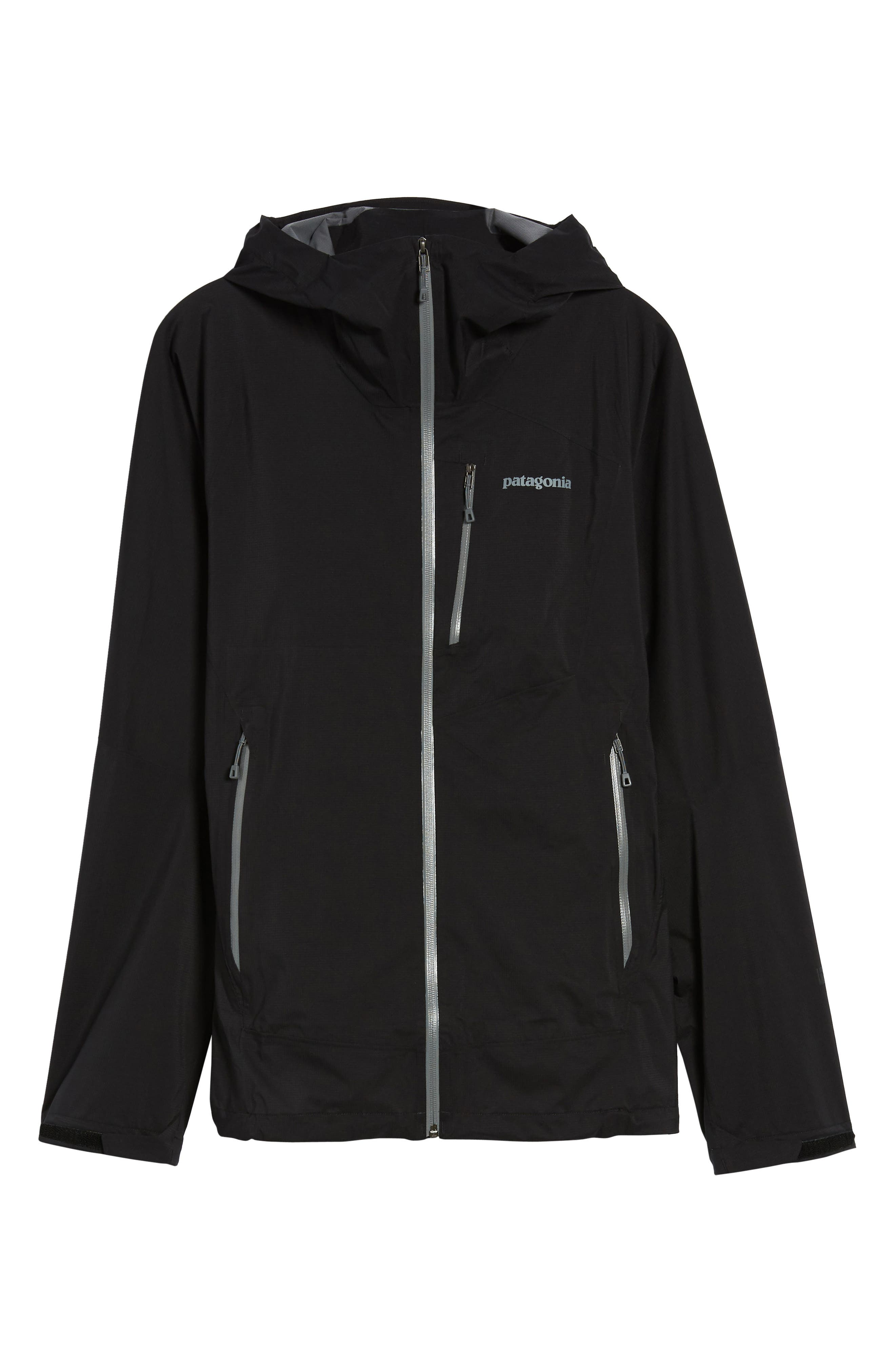 Stretch Rainshadow Jacket,                             Alternate thumbnail 5, color,                             001