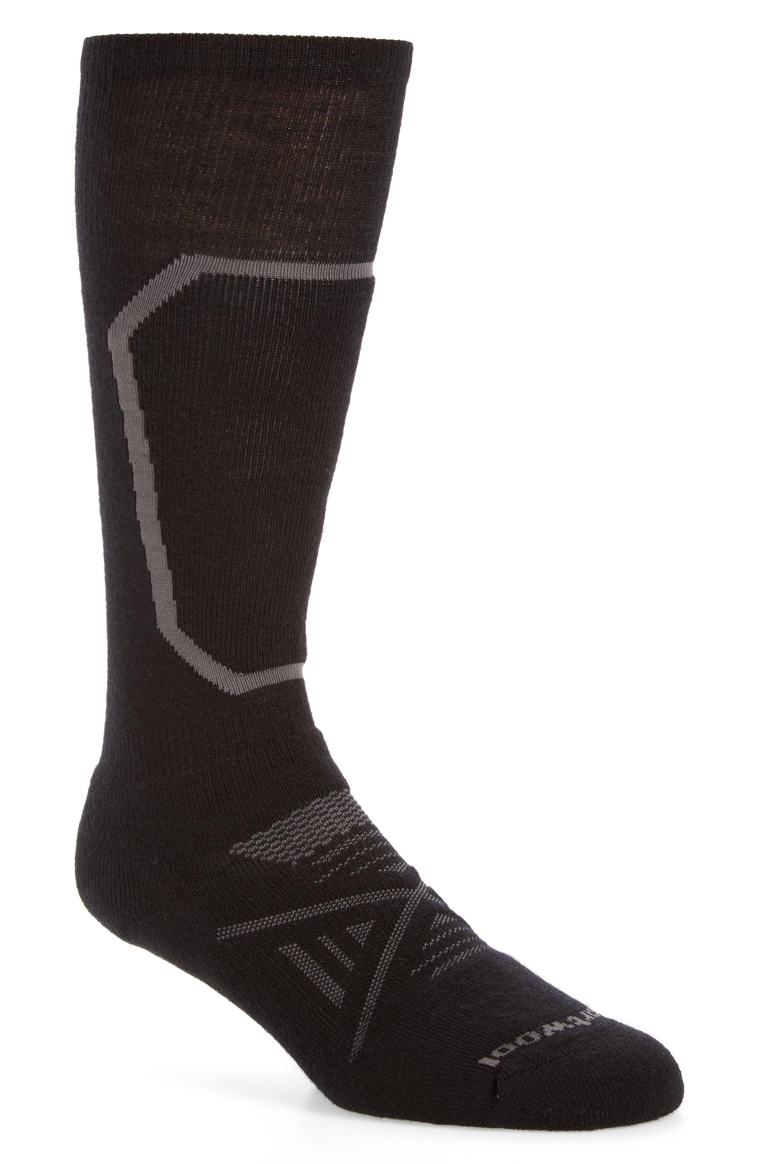 PhD<sup>®</sup> Ski Medium Over the Calf Socks,                             Alternate thumbnail 2, color,                             001