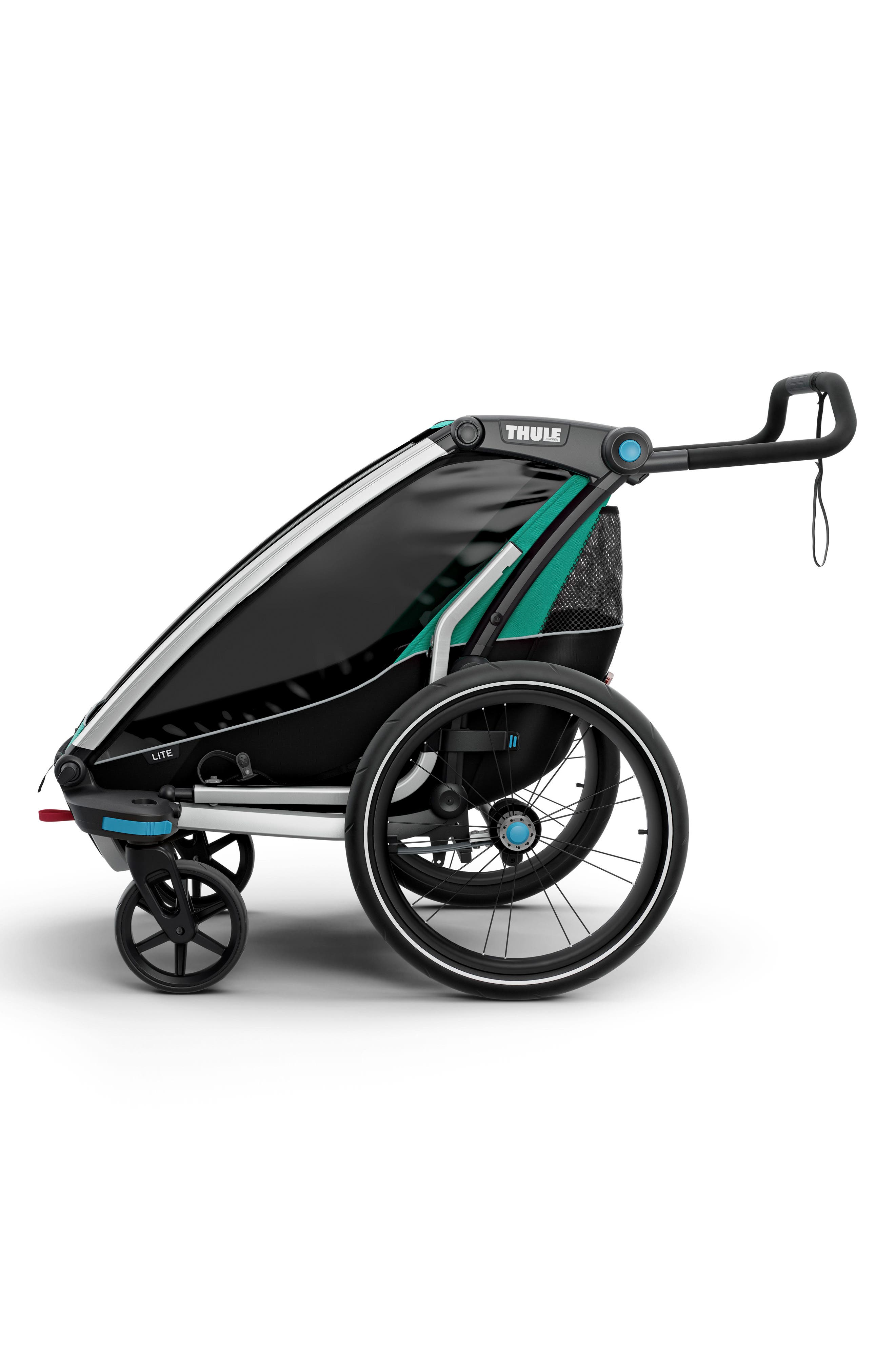 Chariot Lite Multisport Cycle Trailer/Stroller,                             Alternate thumbnail 5, color,                             BLUEGRASS