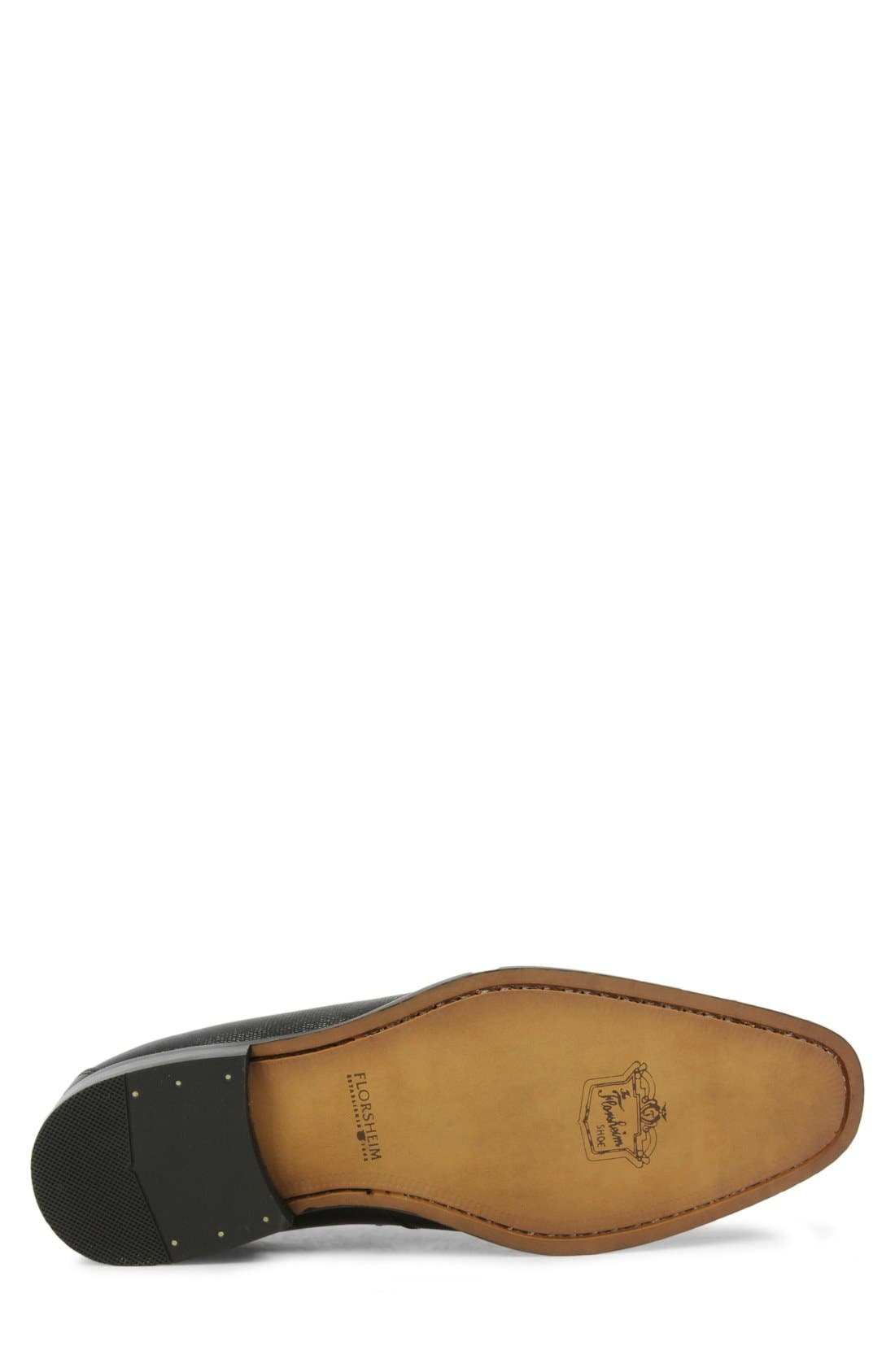 'Sabato' Penny Loafer,                             Alternate thumbnail 4, color,                             001