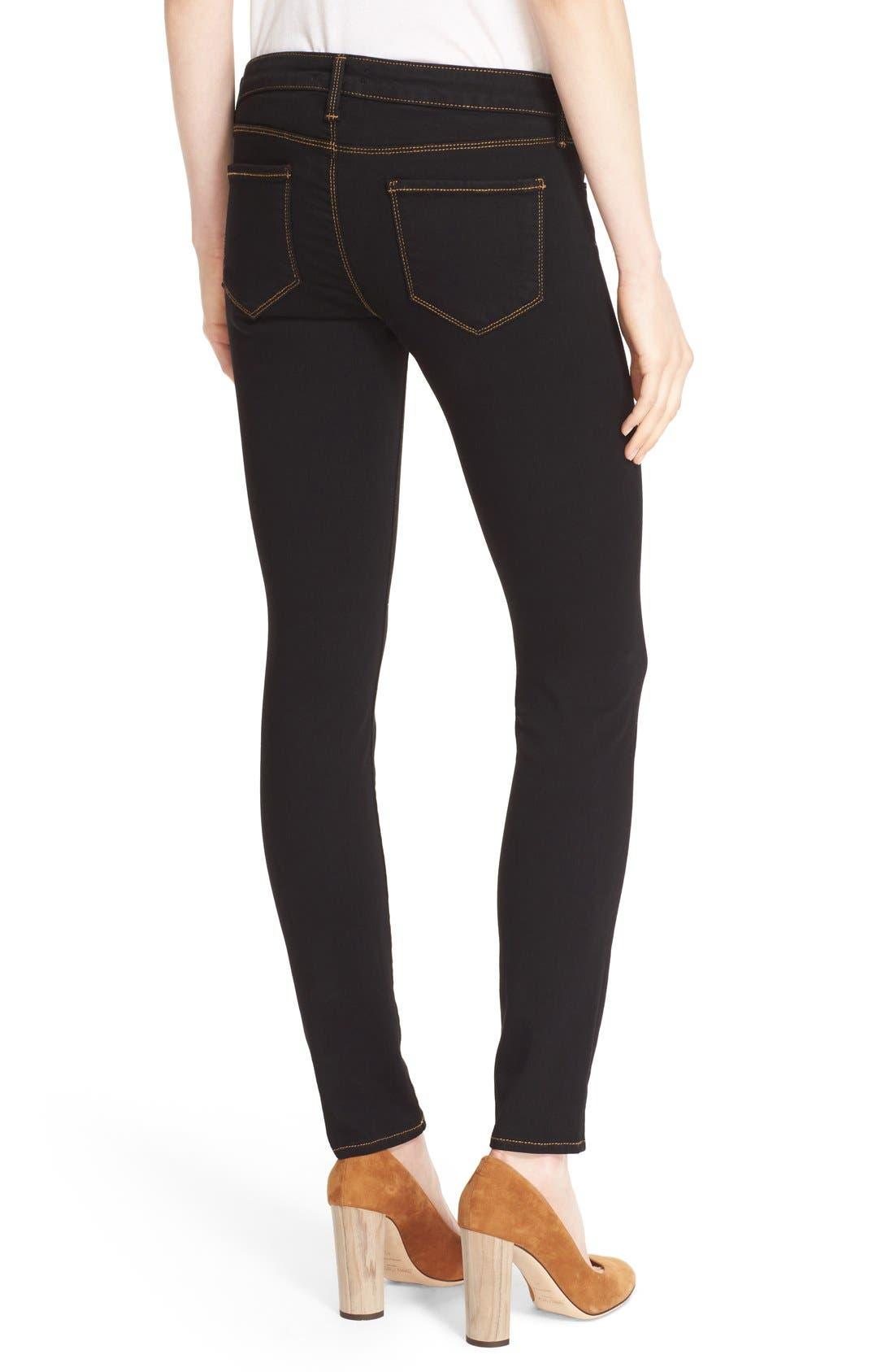 L'AGENCE,                             'Chantal' Skinny Jeans,                             Alternate thumbnail 5, color,                             001