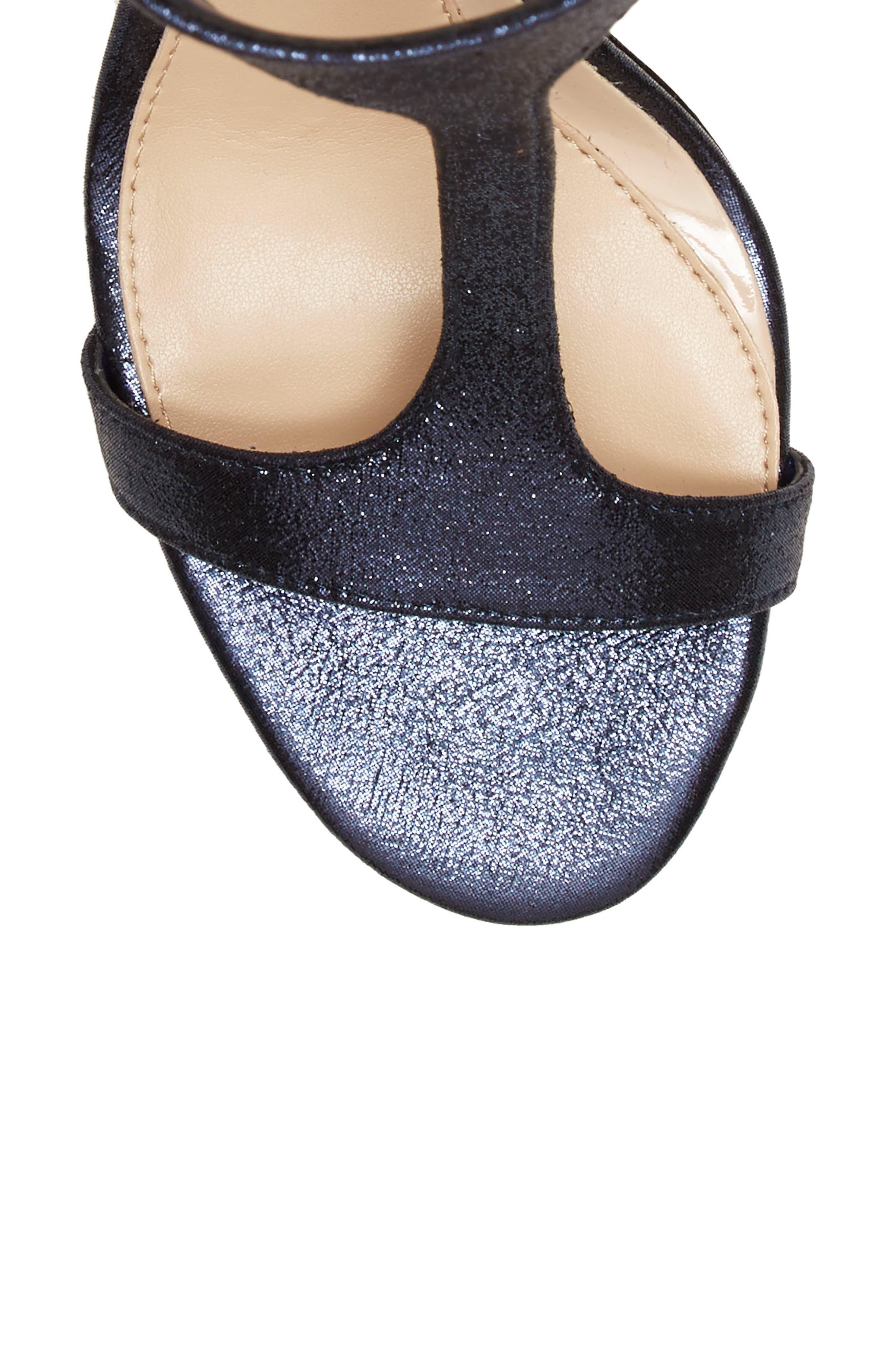 'Phoebe' Embellished T-Strap Sandal,                             Alternate thumbnail 74, color,