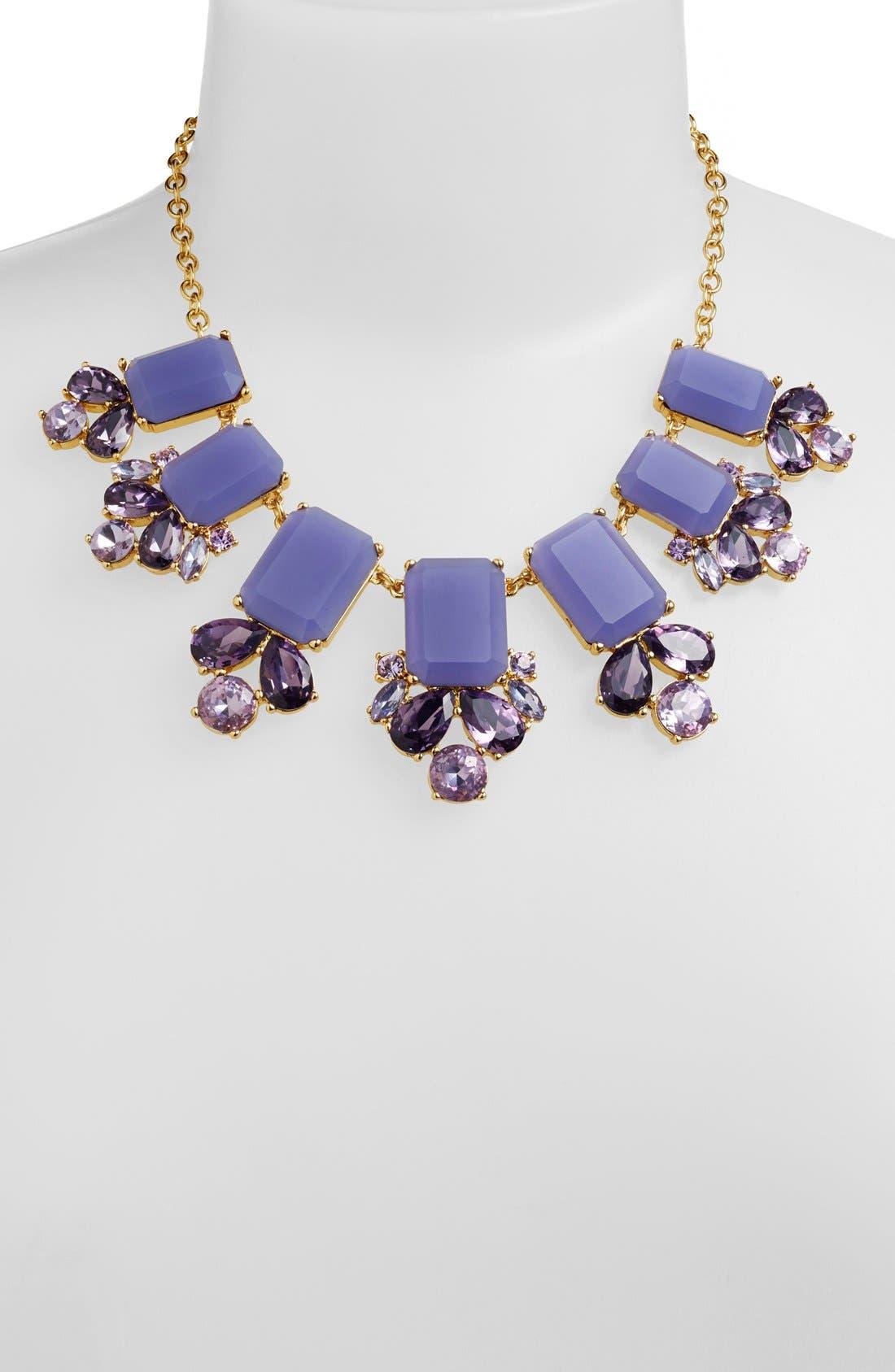 KATE SPADE NEW YORK,                             'glitzy spritz' statement necklace,                             Alternate thumbnail 2, color,                             500