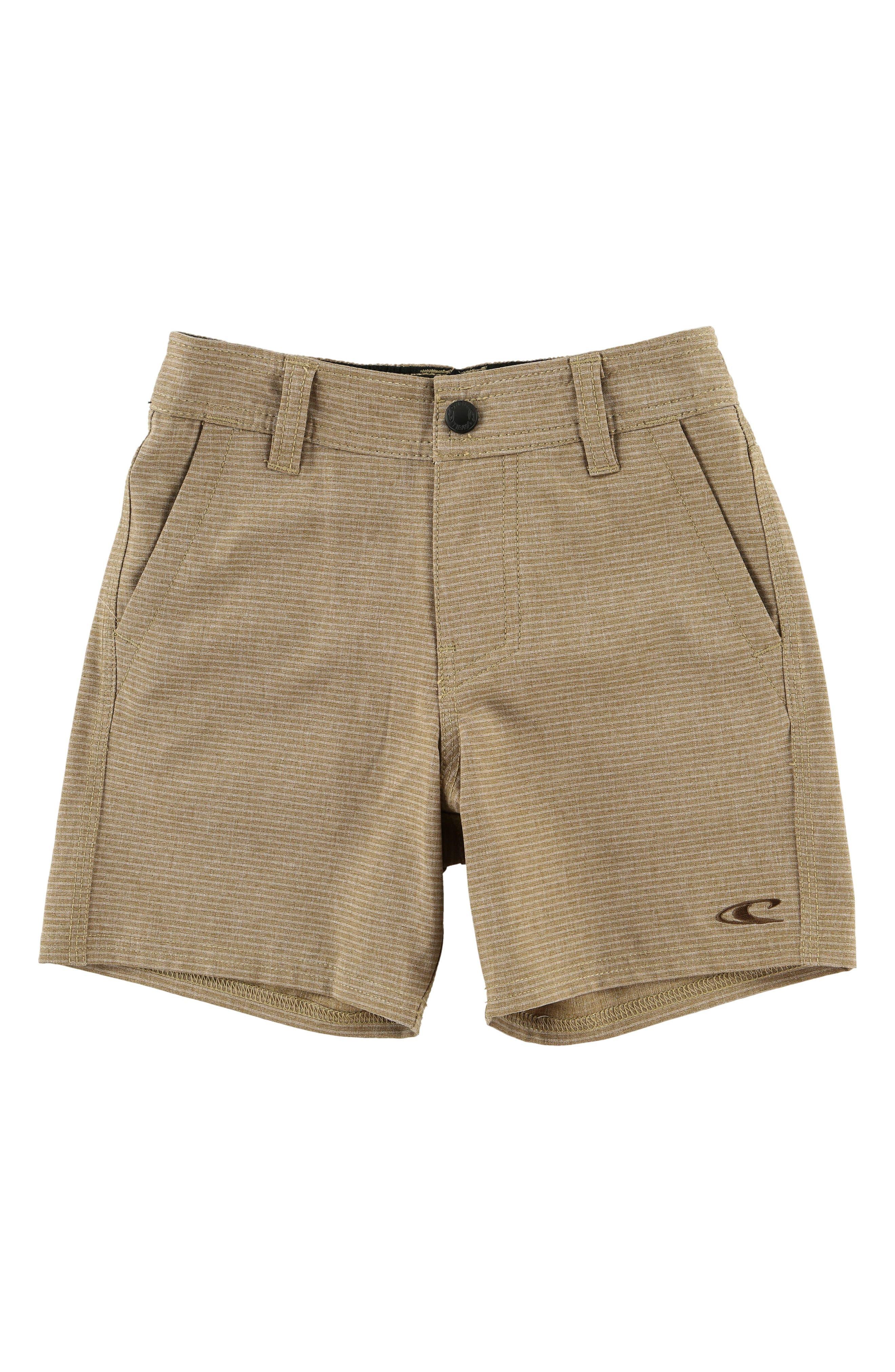 Locked Stripe Hybrid Shorts,                         Main,                         color, 205