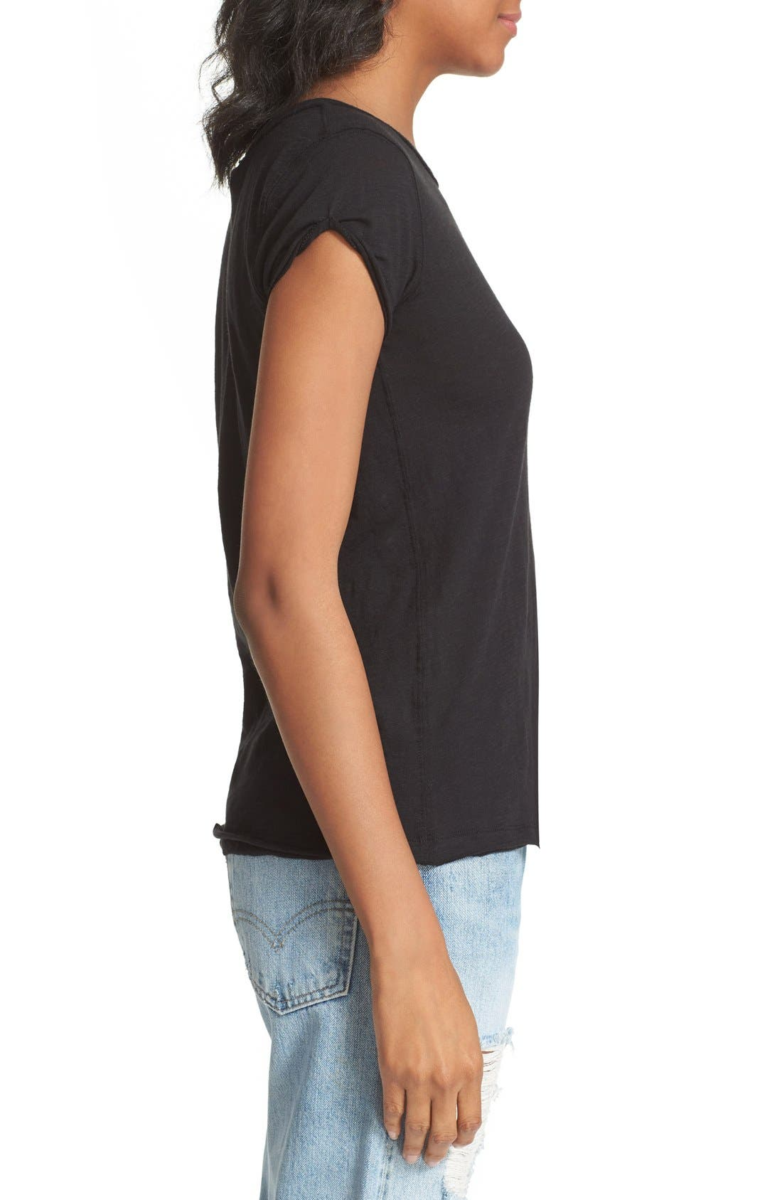 We the Free by Free People Tee,                             Alternate thumbnail 2, color,                             BLACK