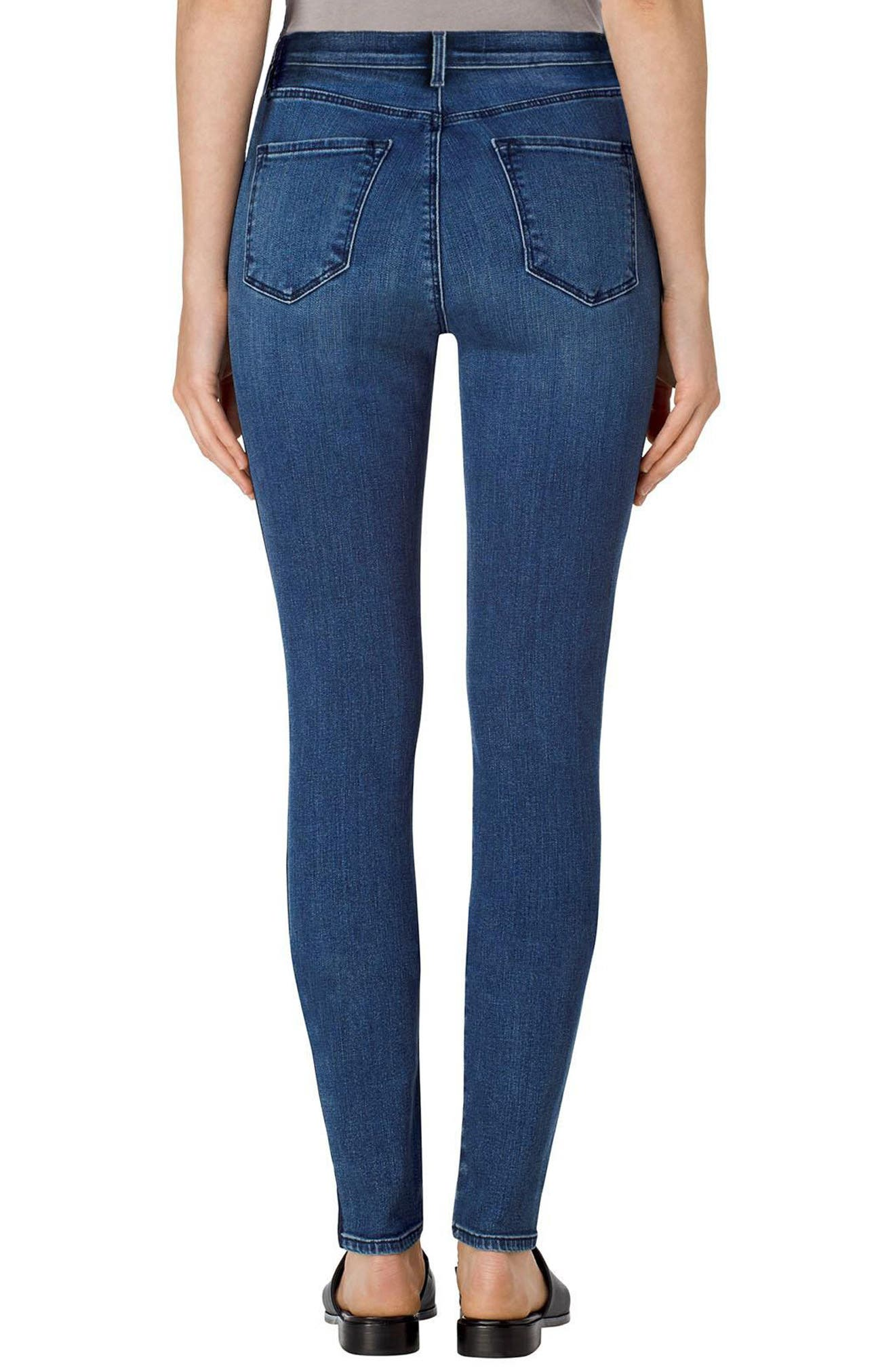 Maria High Rise Skinny Jeans,                             Alternate thumbnail 2, color,                             470