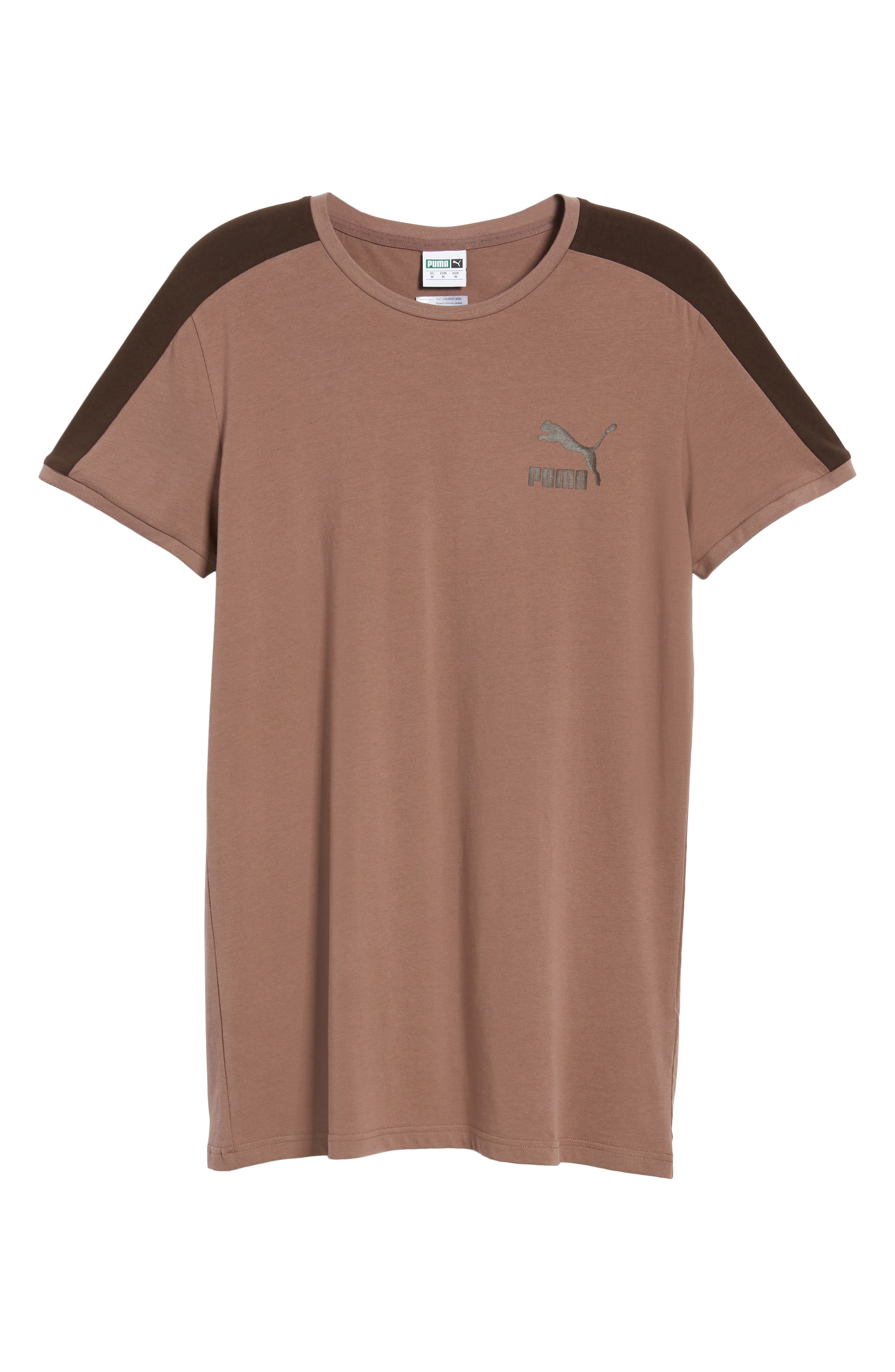 Classics Slim T7 T-Shirt,                             Alternate thumbnail 6, color,                             MEDIUM GRAY HEATHER
