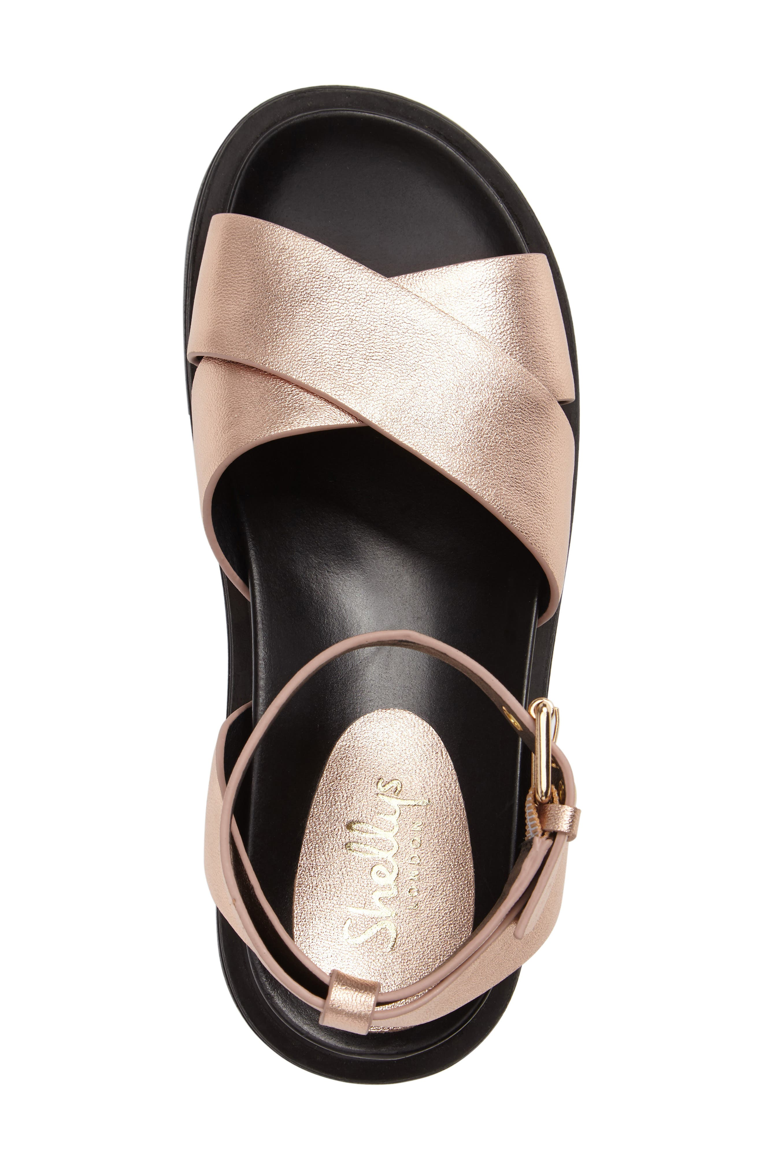 Ankle Strap Platform Sandal,                             Alternate thumbnail 3, color,                             712