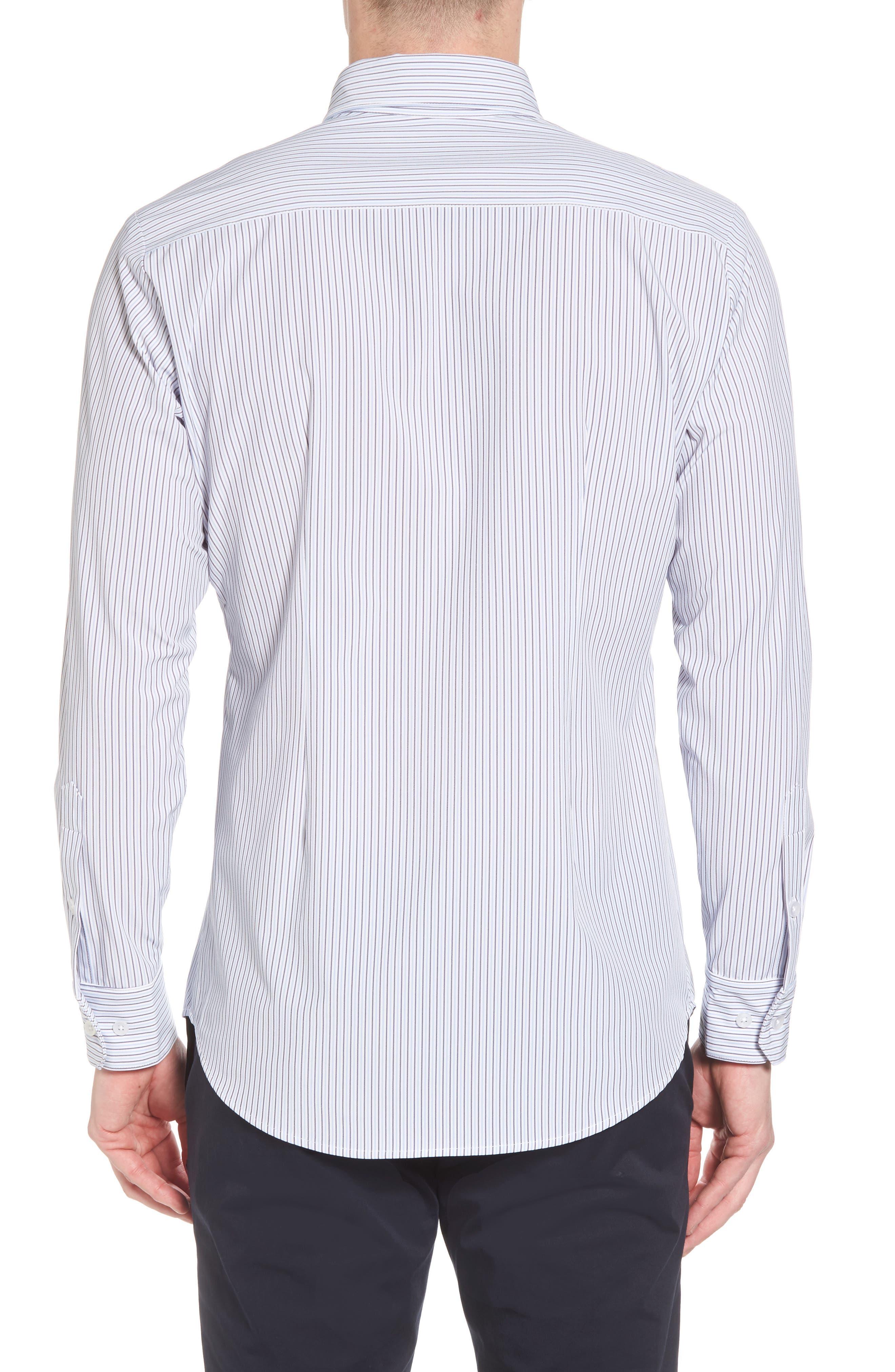 Callahan Stripe Sport Shirt,                             Alternate thumbnail 2, color,                             477