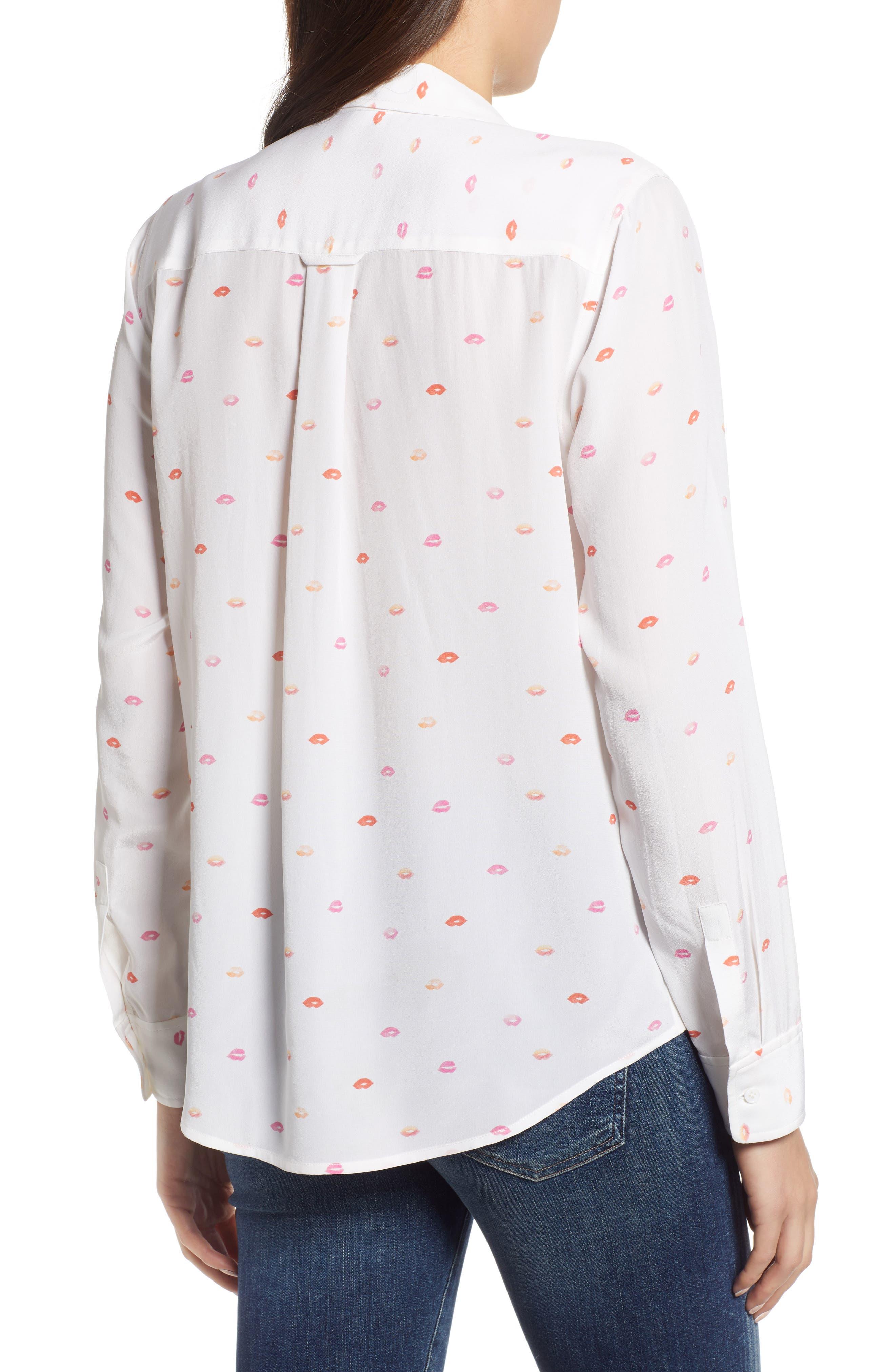 Kate Print Shirt,                             Alternate thumbnail 26, color,